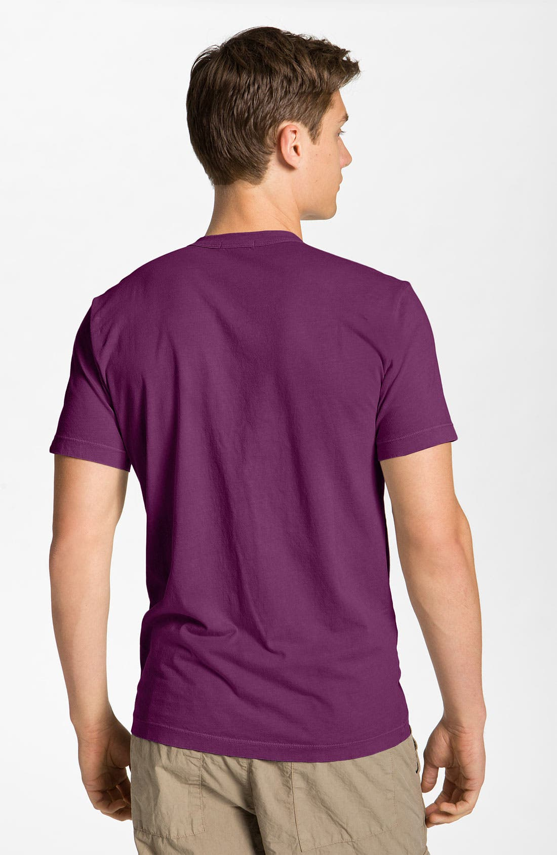 Crewneck Jersey T-Shirt,                             Alternate thumbnail 210, color,