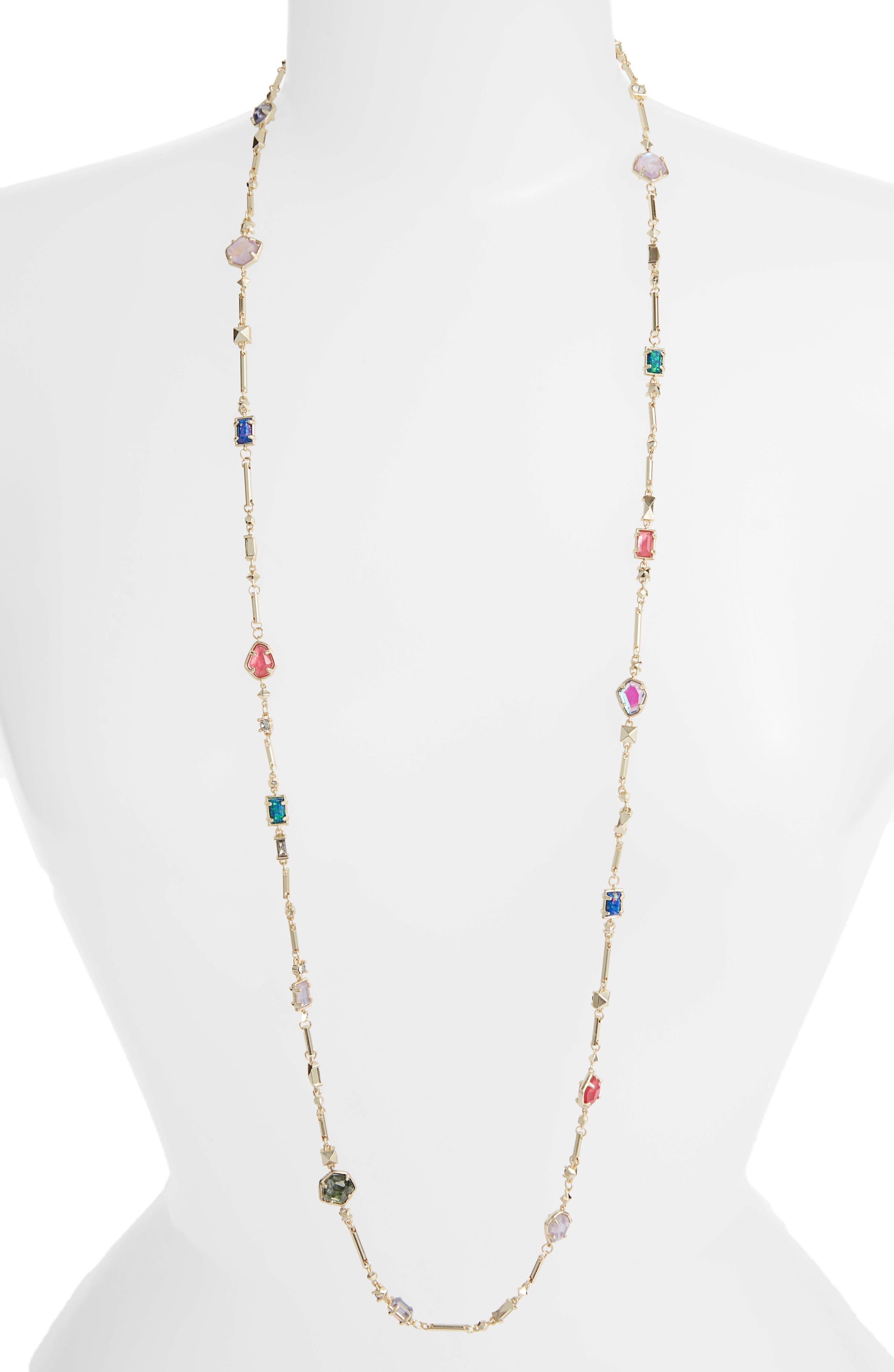 Yazmin Long Necklace,                             Main thumbnail 1, color,                             710