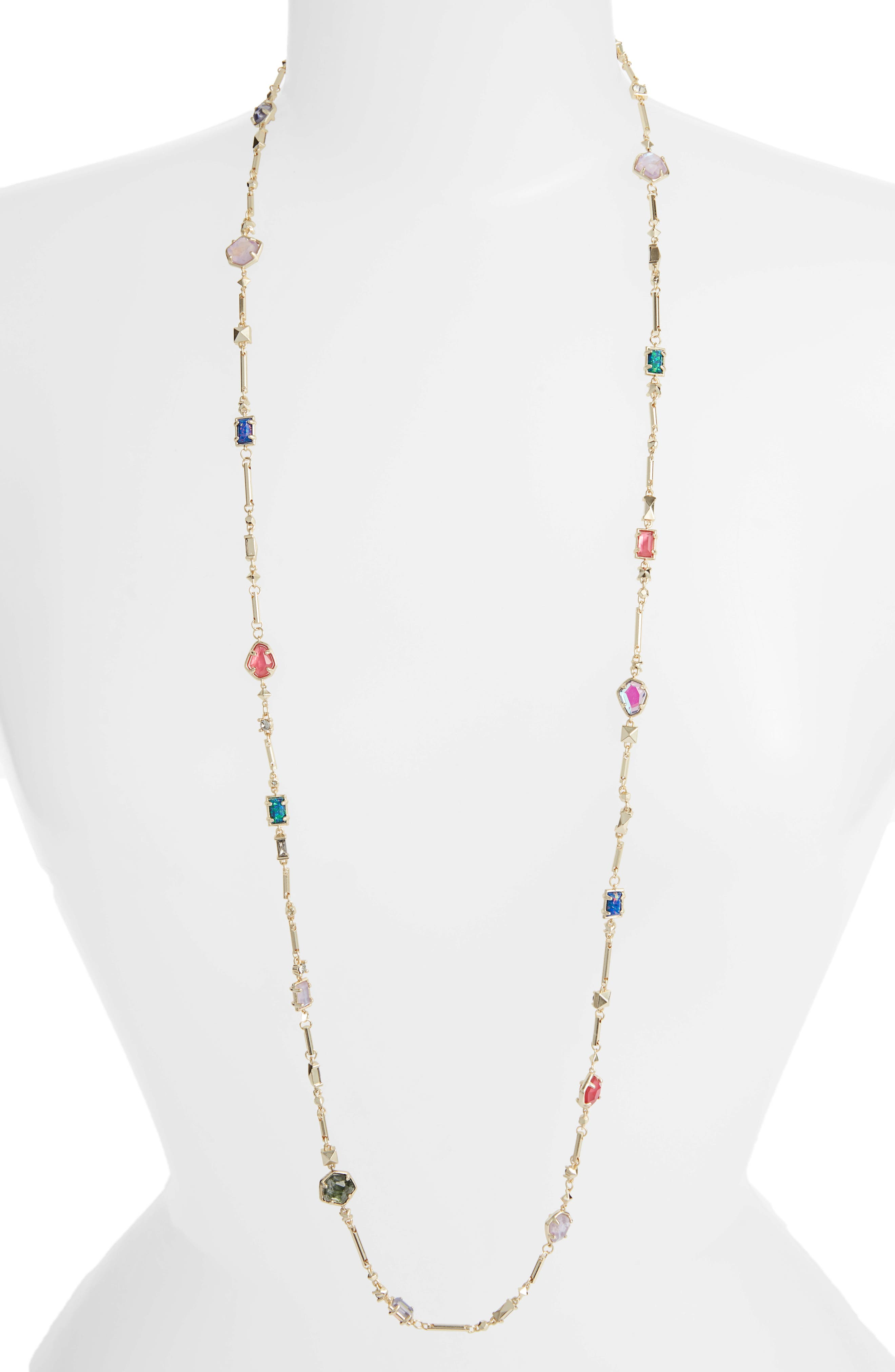 Yazmin Long Necklace,                         Main,                         color, 710