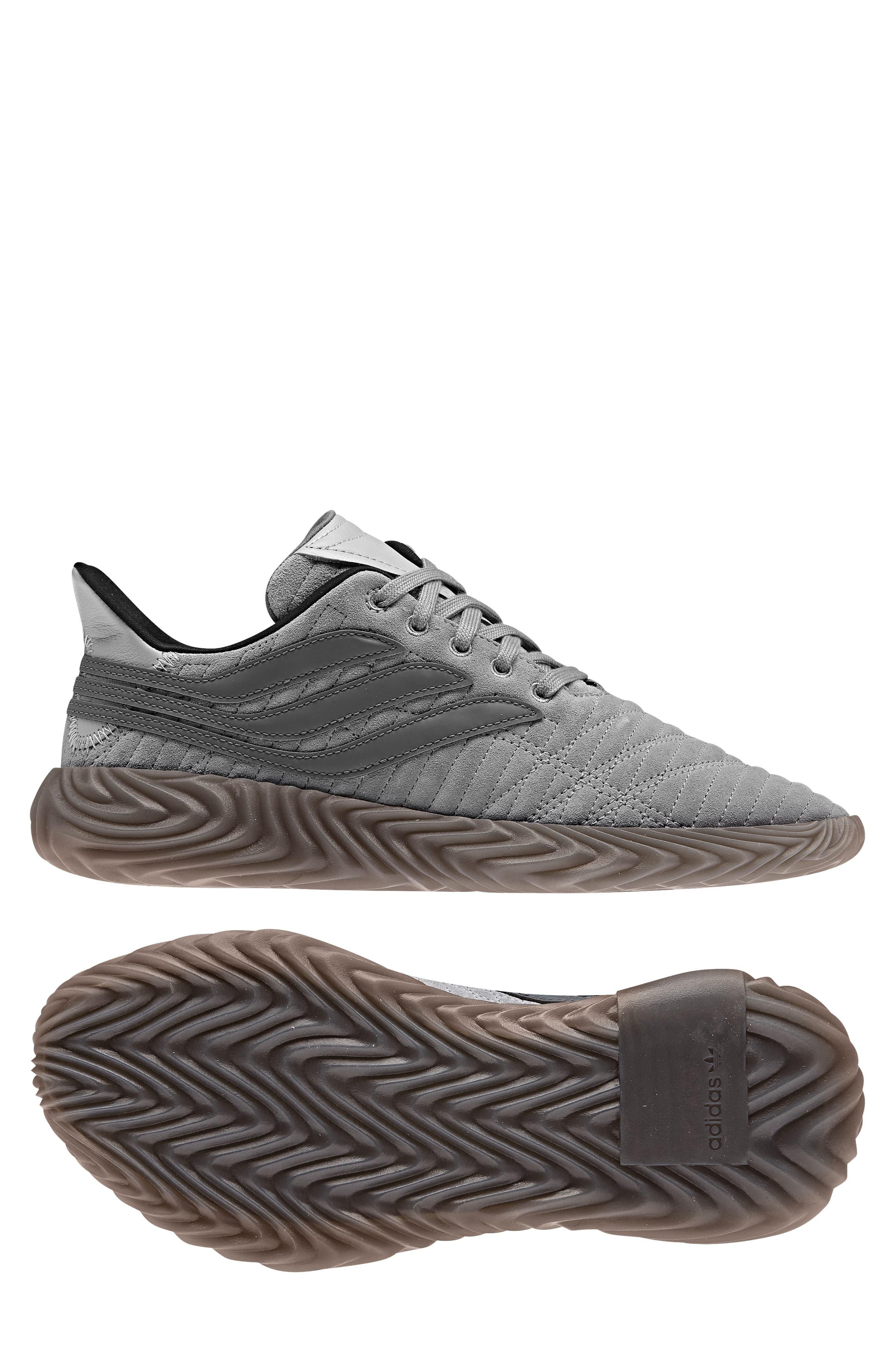 Sobakov Sneaker,                             Alternate thumbnail 9, color,                             GREY/ GREY