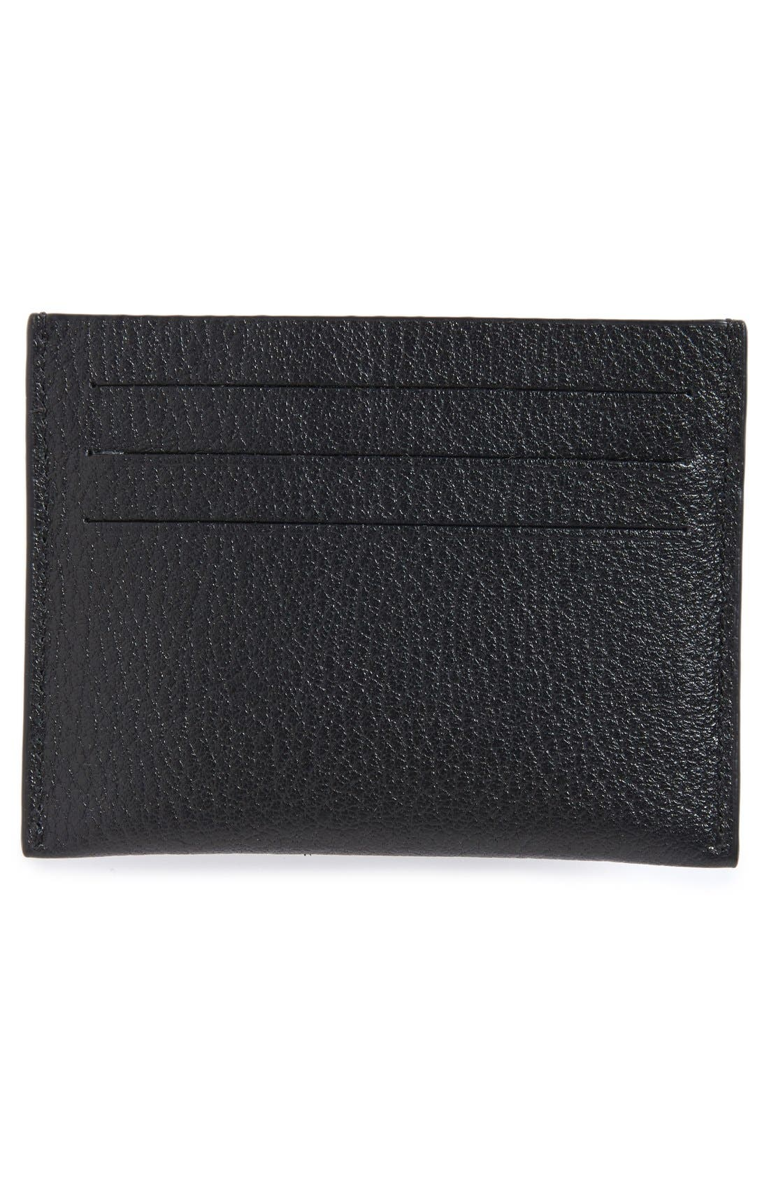 'Pandora' Card Case,                             Alternate thumbnail 2, color,                             BLACK