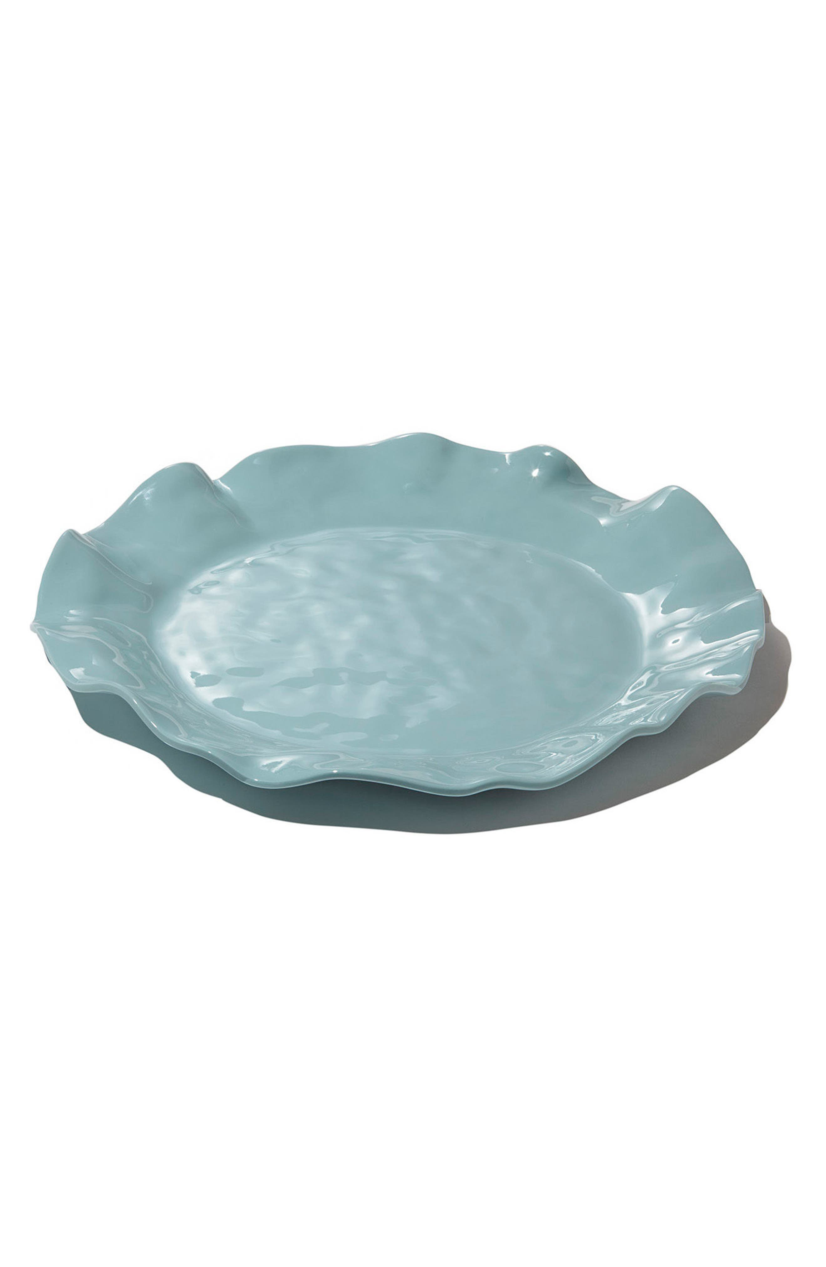 Collection Vida Havana Platter,                             Main thumbnail 1, color,                             AQUA