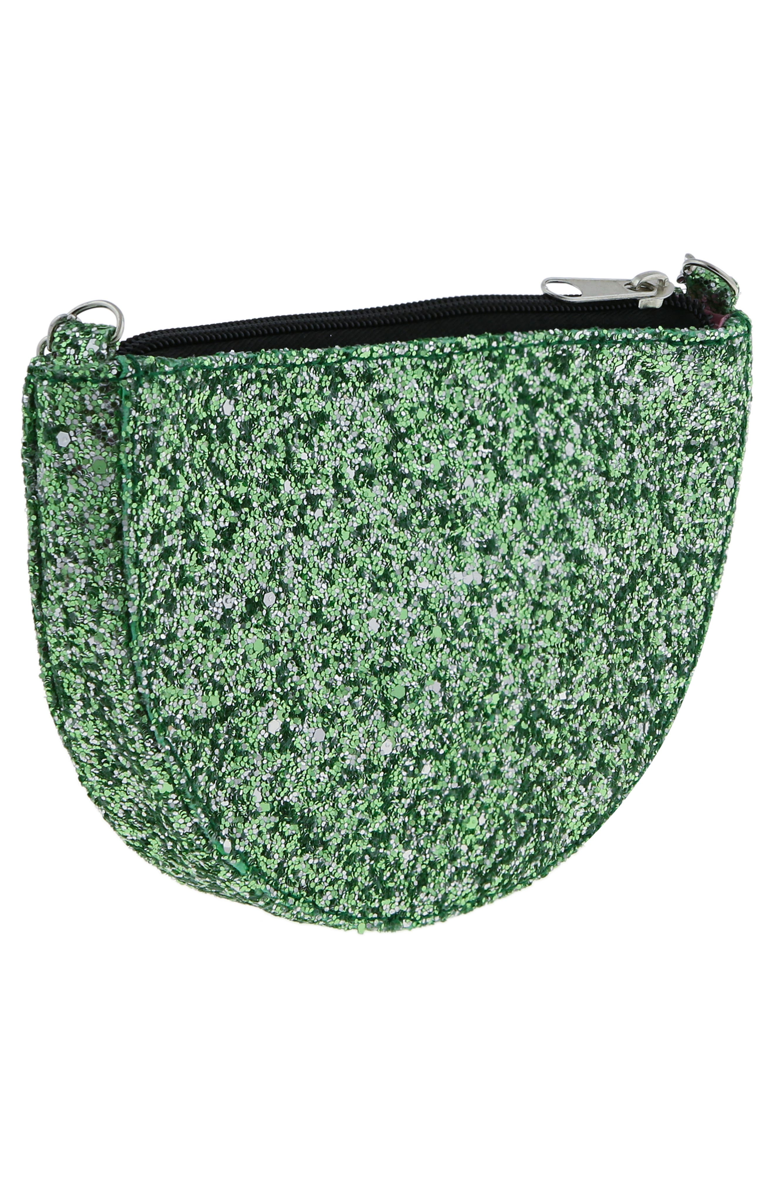 Glitter Watermelon Crossbody Bag,                             Alternate thumbnail 2, color,                             MULTI CO
