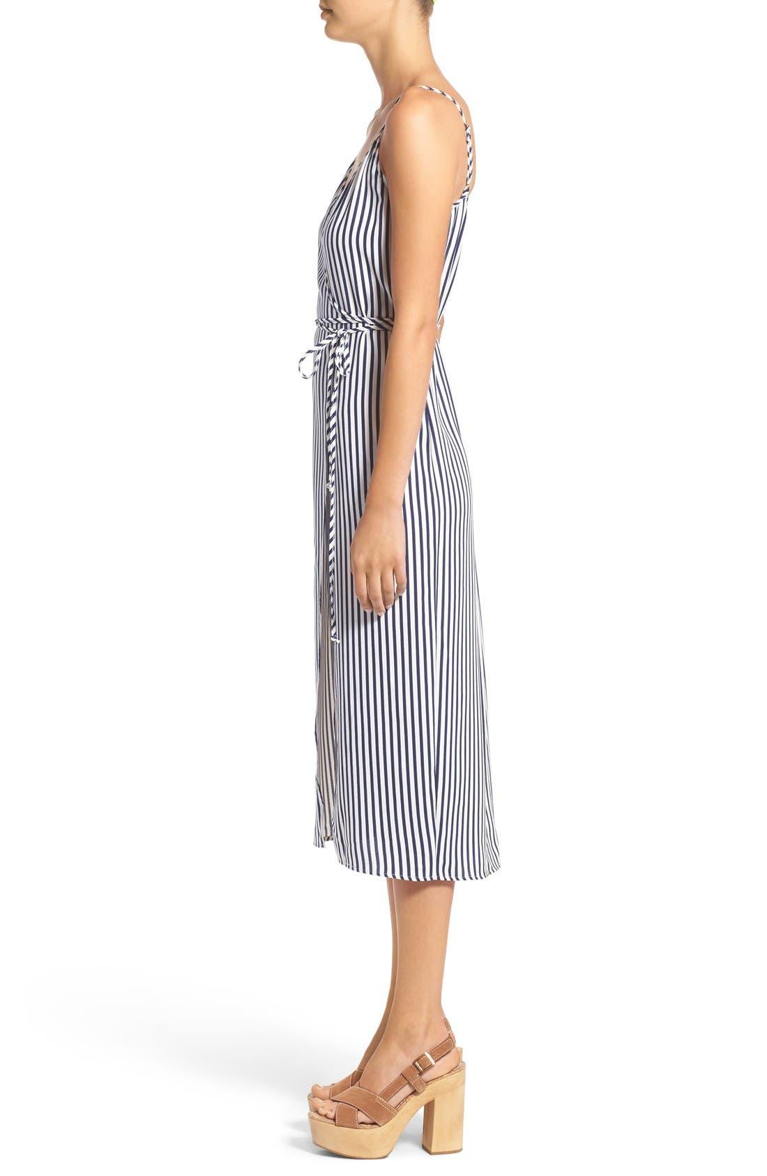 Wrap Midi Dress,                             Alternate thumbnail 12, color,