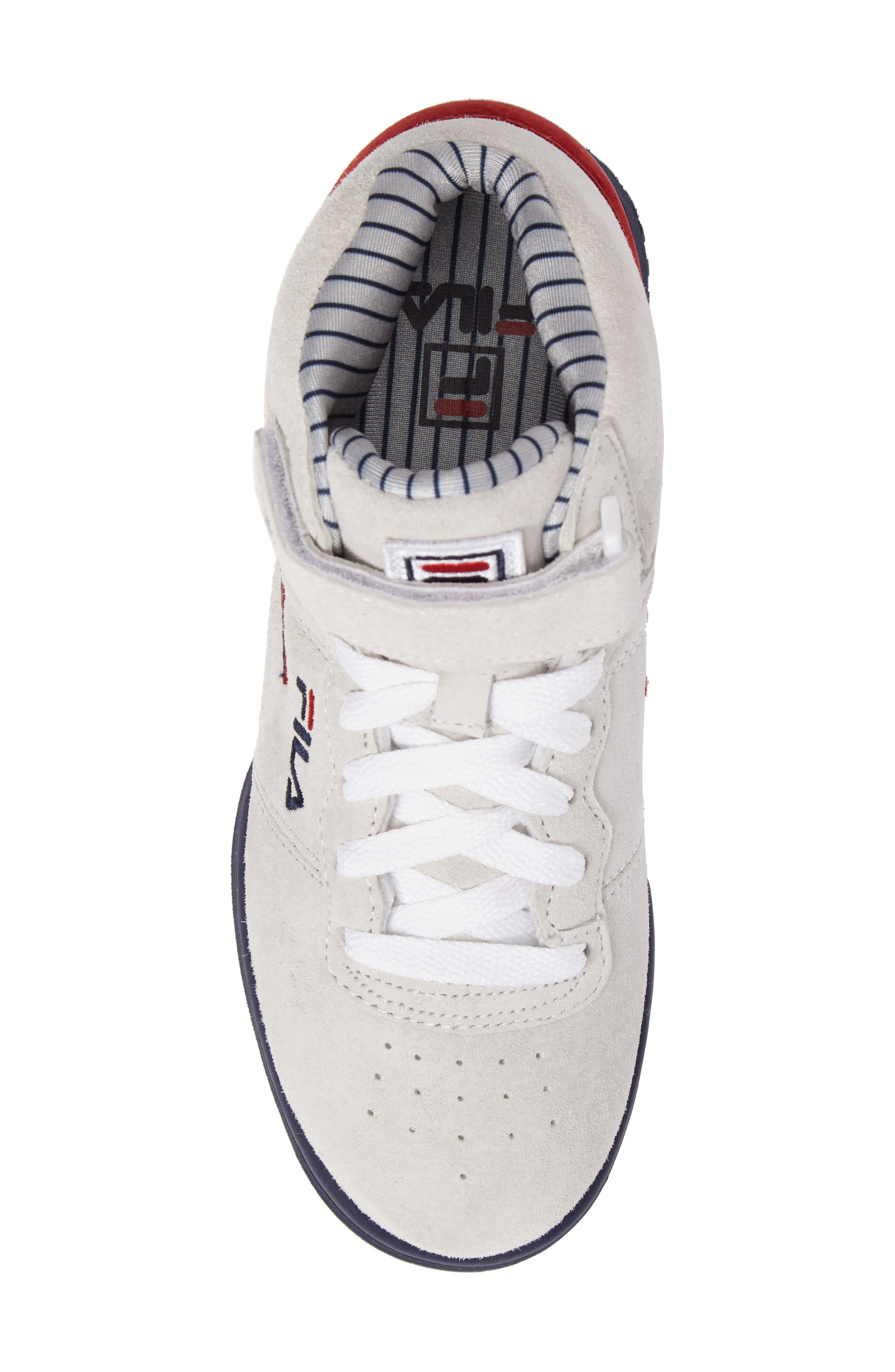 F-13 Mid Pinstripe Sneaker,                             Alternate thumbnail 5, color,                             150