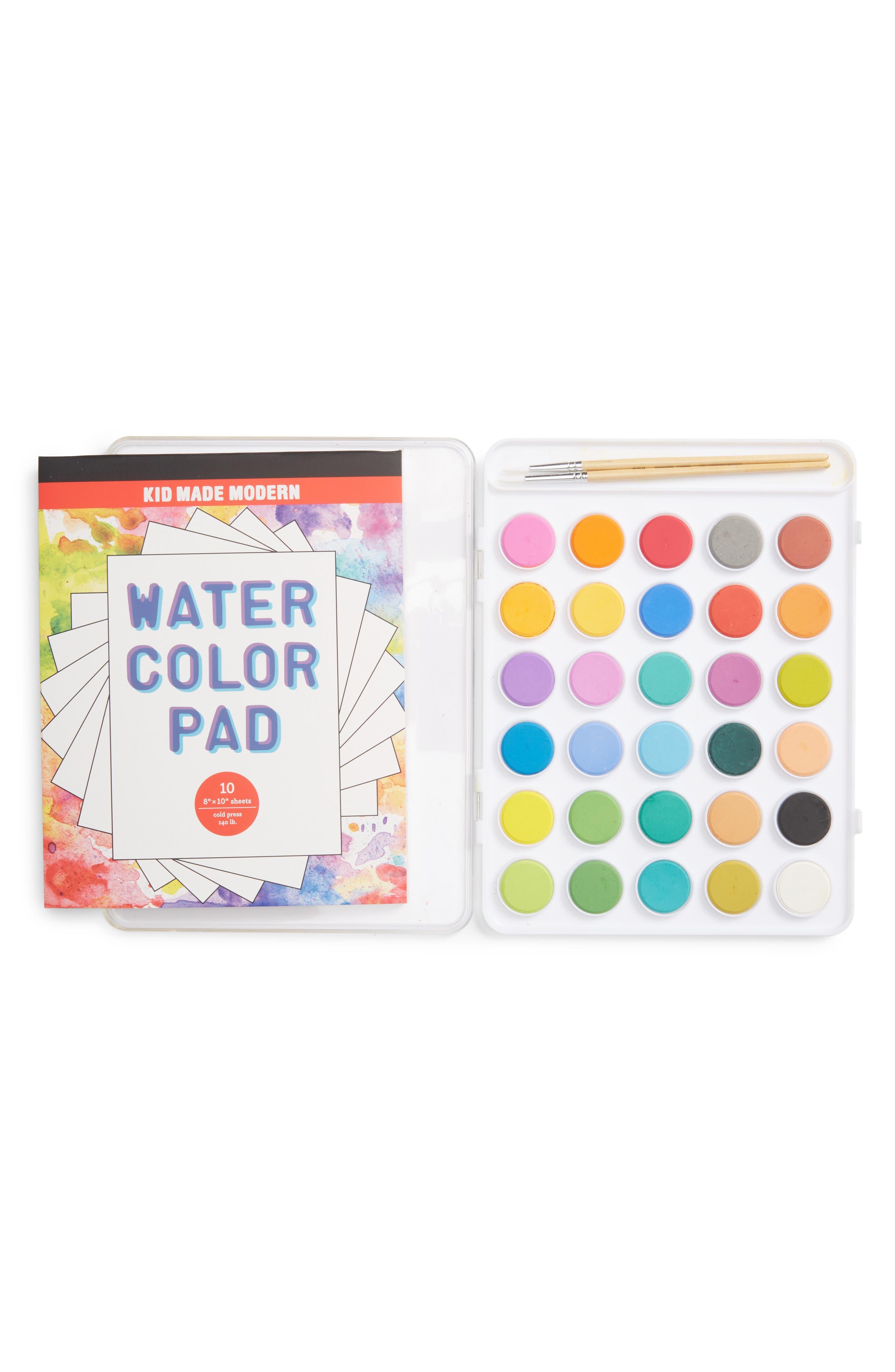 Watercolor Paint Set,                             Main thumbnail 1, color,                             100