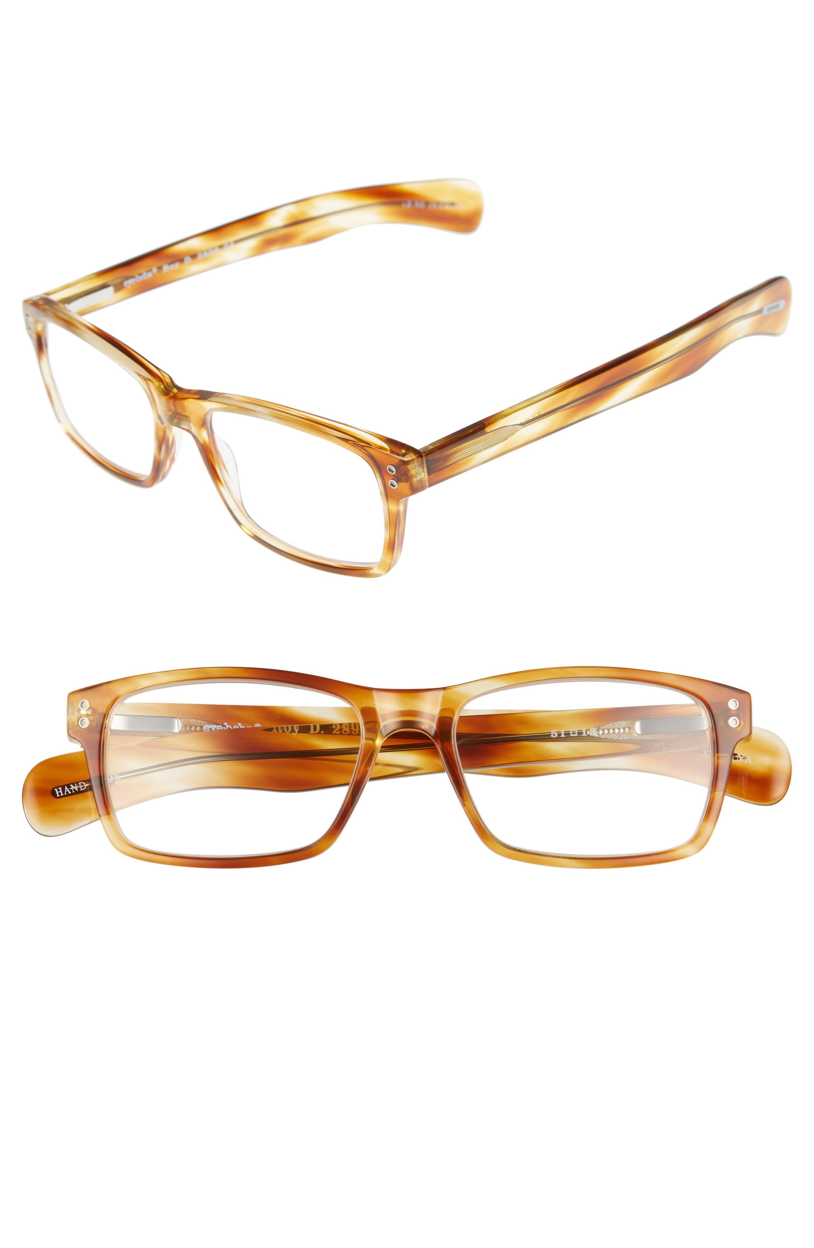 Roy D 51mm Reading Glasses,                             Main thumbnail 1, color,                             LIGHT TORTOISE