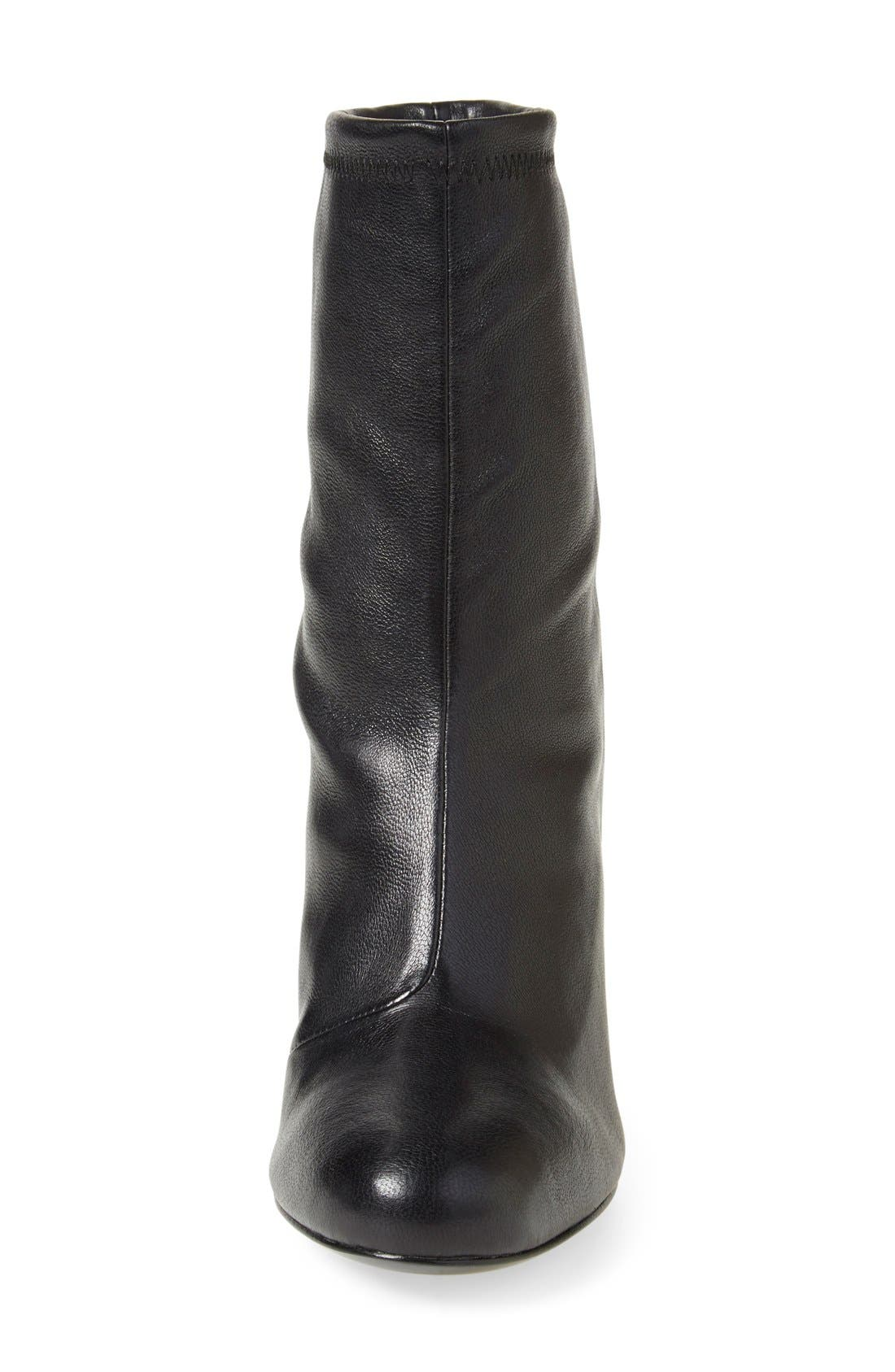 'Zloty' Round Toe Bootie,                             Alternate thumbnail 2, color,                             002
