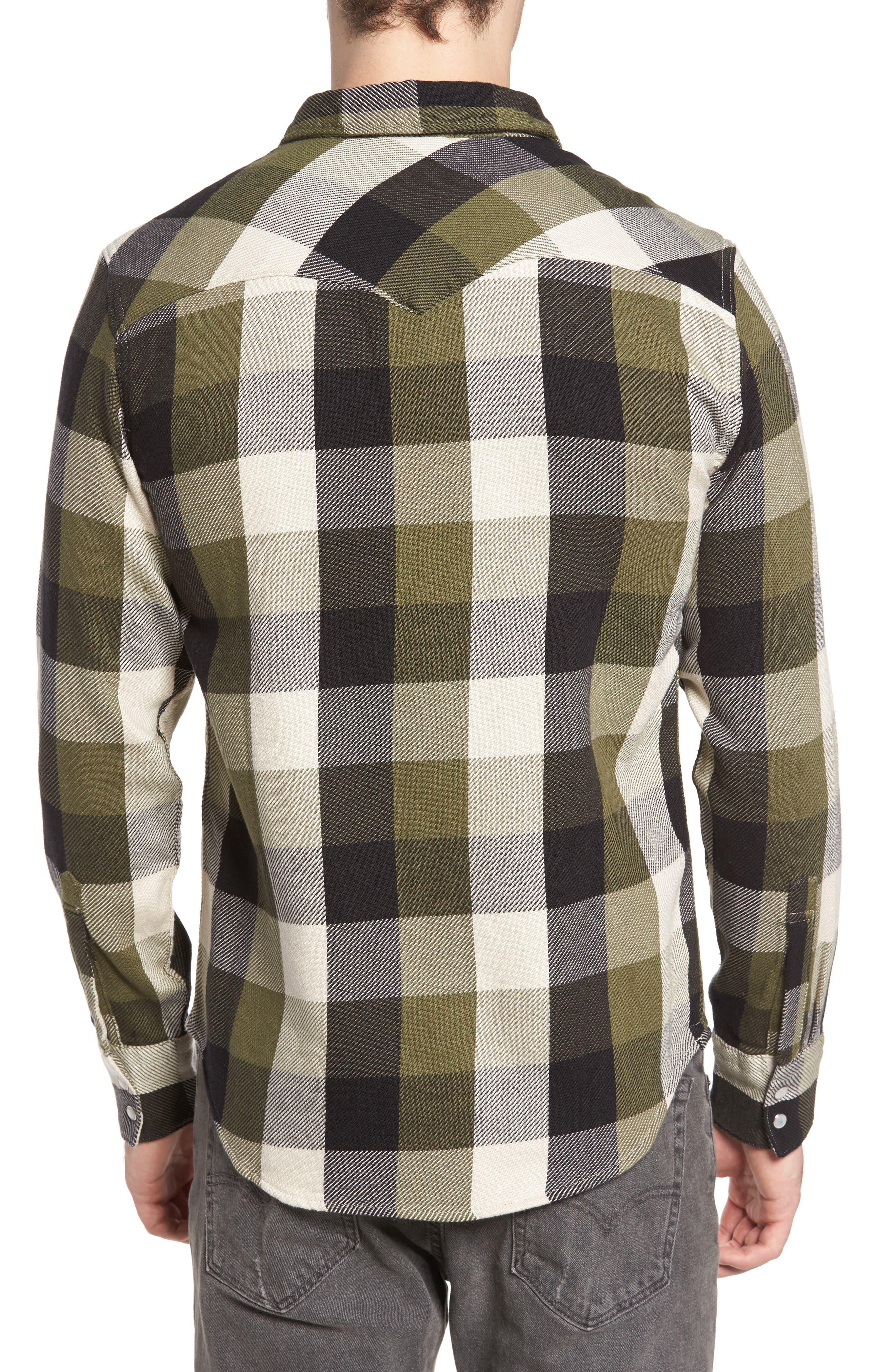'Barstow' Denim Western Shirt,                             Alternate thumbnail 7, color,