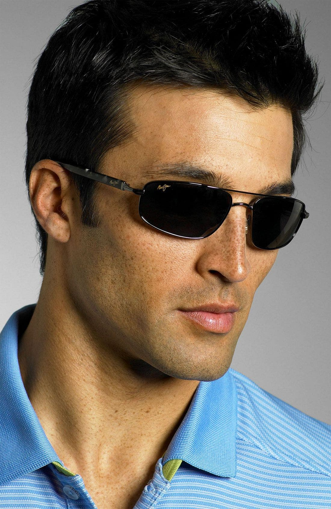 'Kahuna -PolarizedPlus<sup>®</sup>2' 59mm Sunglasses,                             Alternate thumbnail 2, color,                             GUN