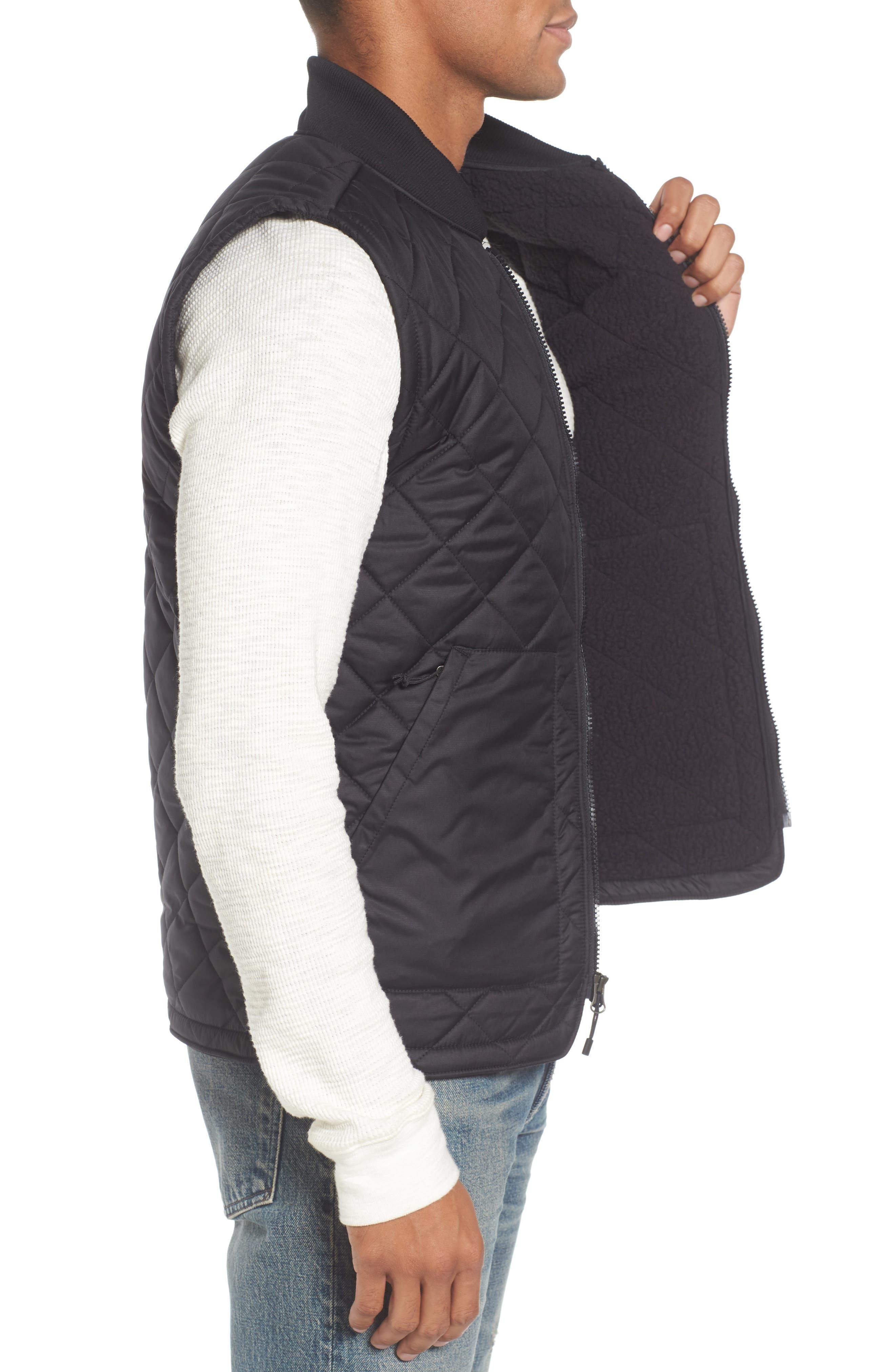 Cuchillo Insulated Vest,                             Alternate thumbnail 3, color,                             001