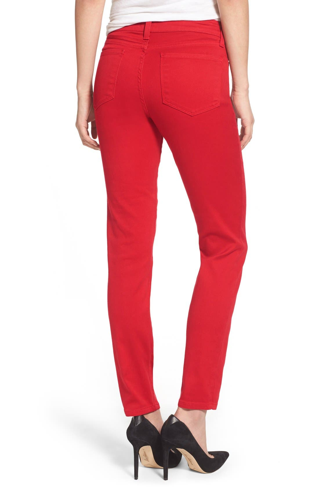 Alina Colored Stretch Skinny Jeans,                             Alternate thumbnail 139, color,