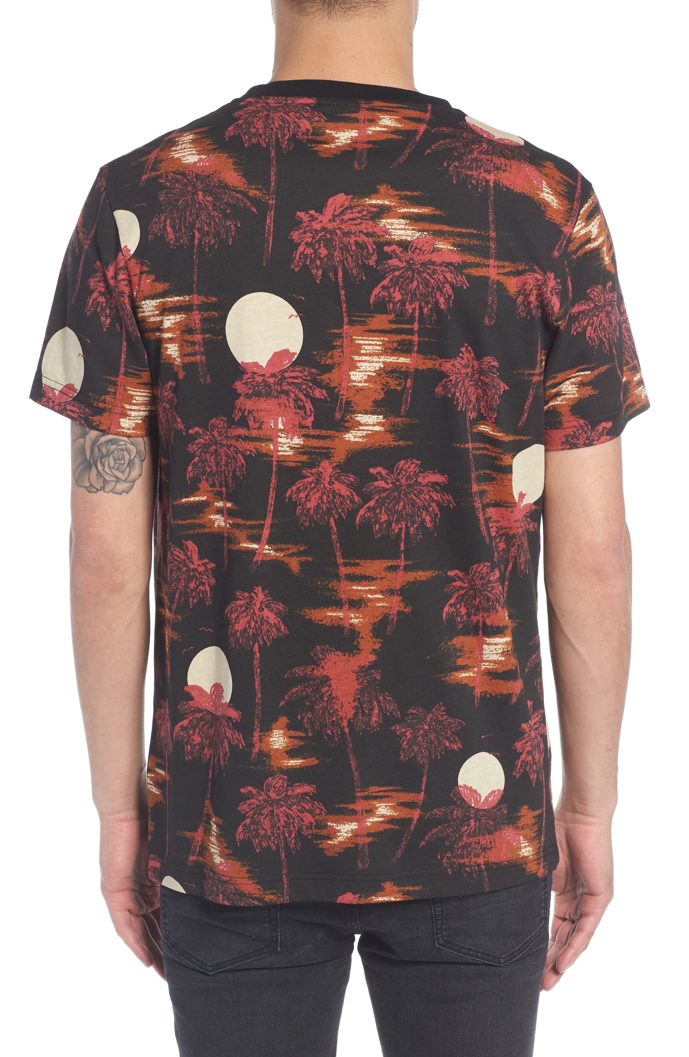 Maxwell Hawaii Print Graphic T-Shirt,                             Alternate thumbnail 2, color,                             001