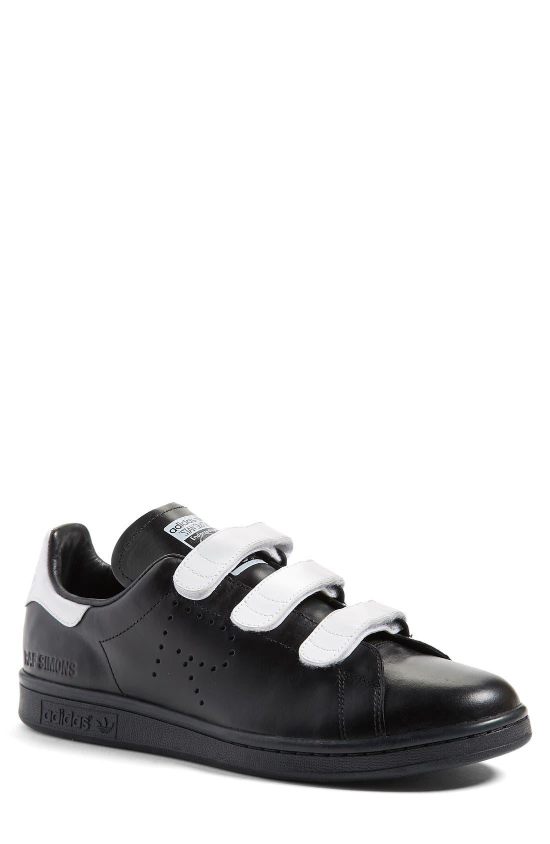 RAF SIMONS,                             adidas by Raf Simons 'Stan Smith' Sneaker,                             Main thumbnail 1, color,                             001