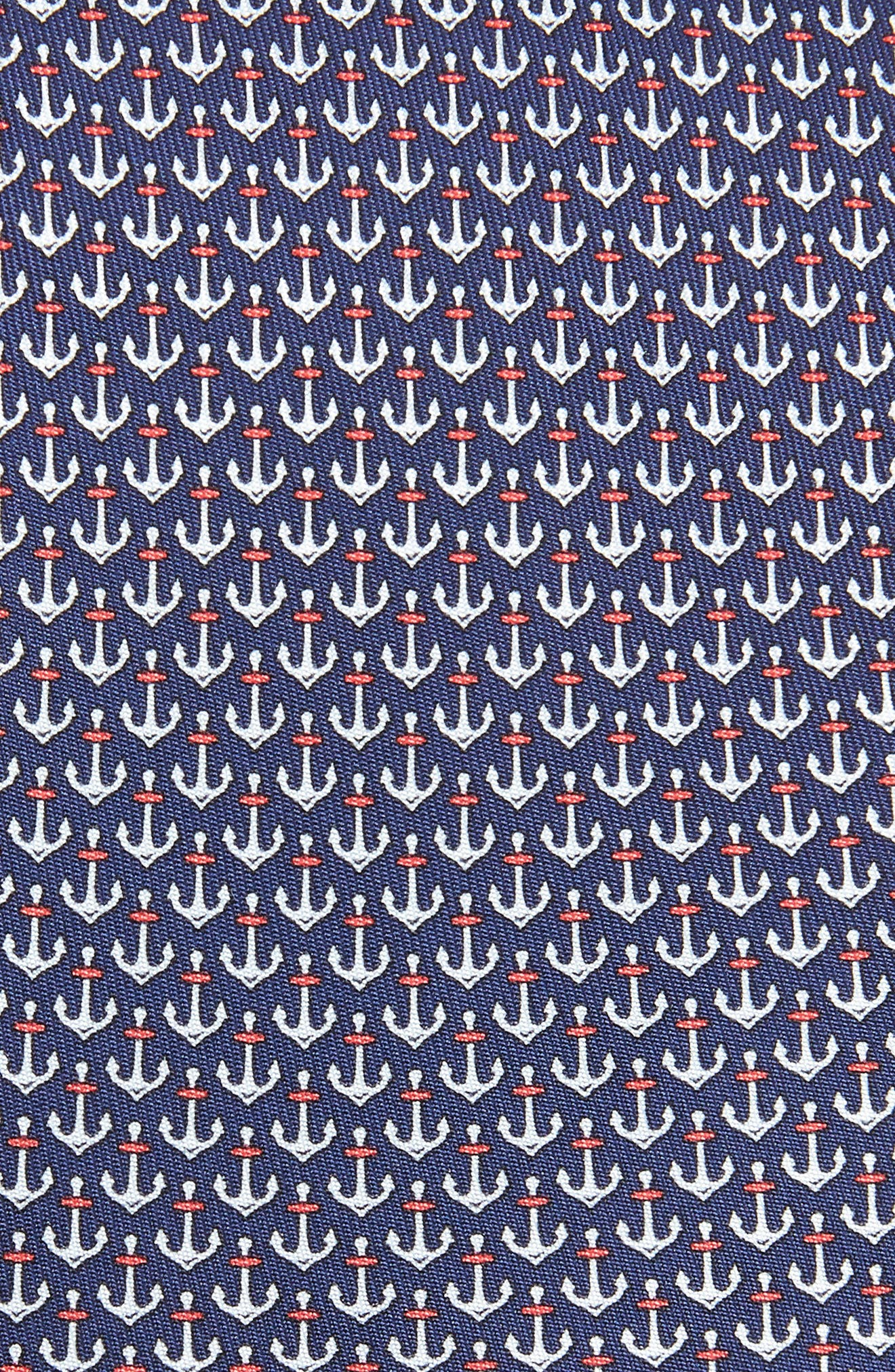 Encora Silk Tie,                             Alternate thumbnail 2, color,                             NAVY