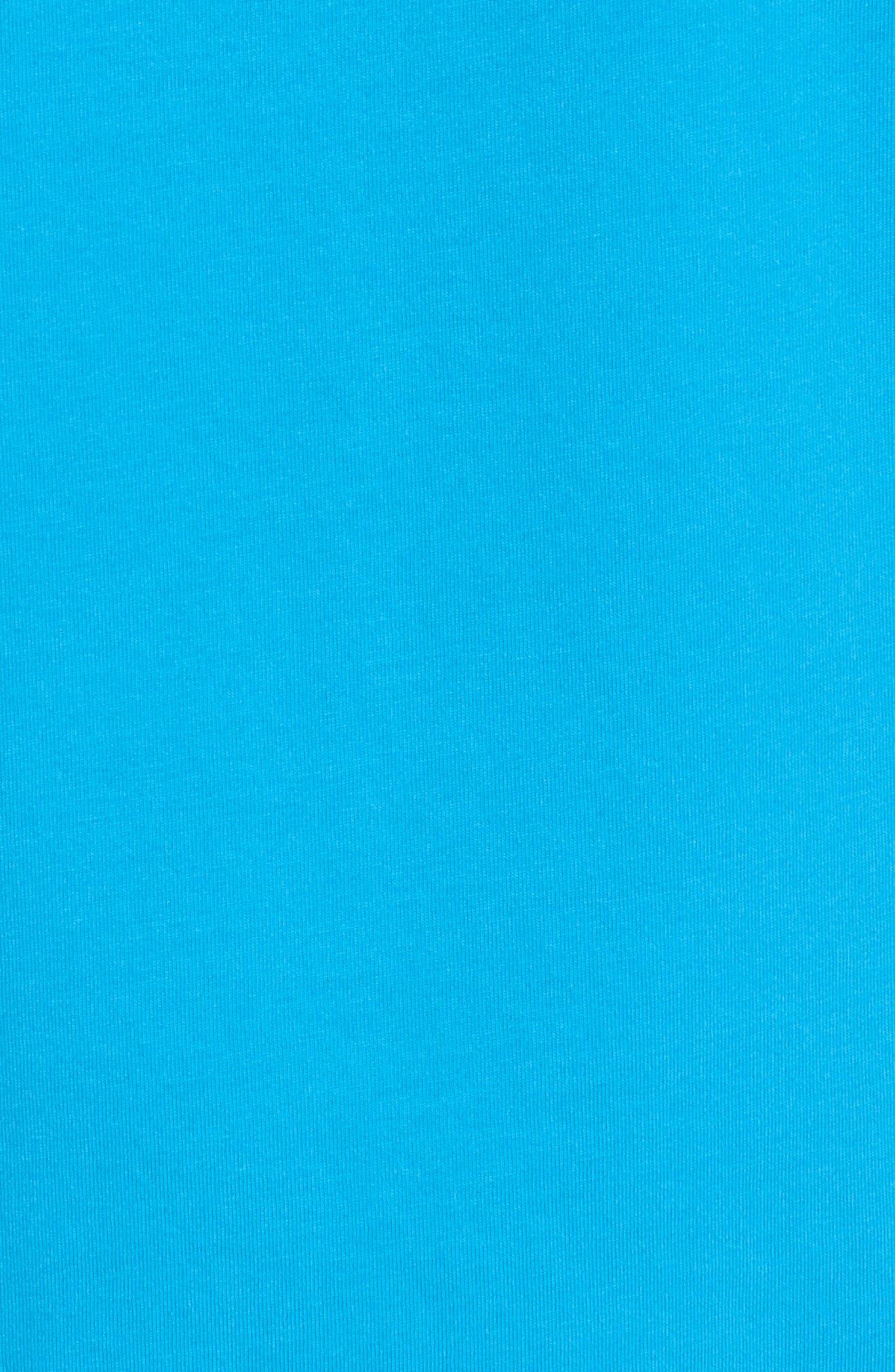 Fish Scale Whale Fill Pocket T-Shirt,                             Alternate thumbnail 5, color,                             400