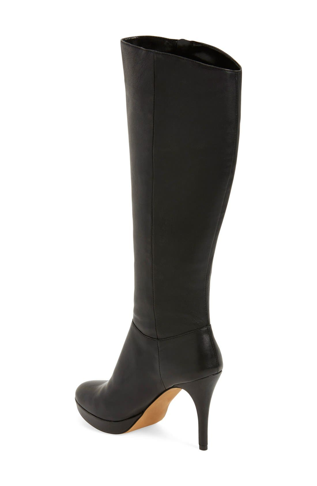 VINCE CAMUTO,                             'Emilian' Tall Boot,                             Alternate thumbnail 4, color,                             001