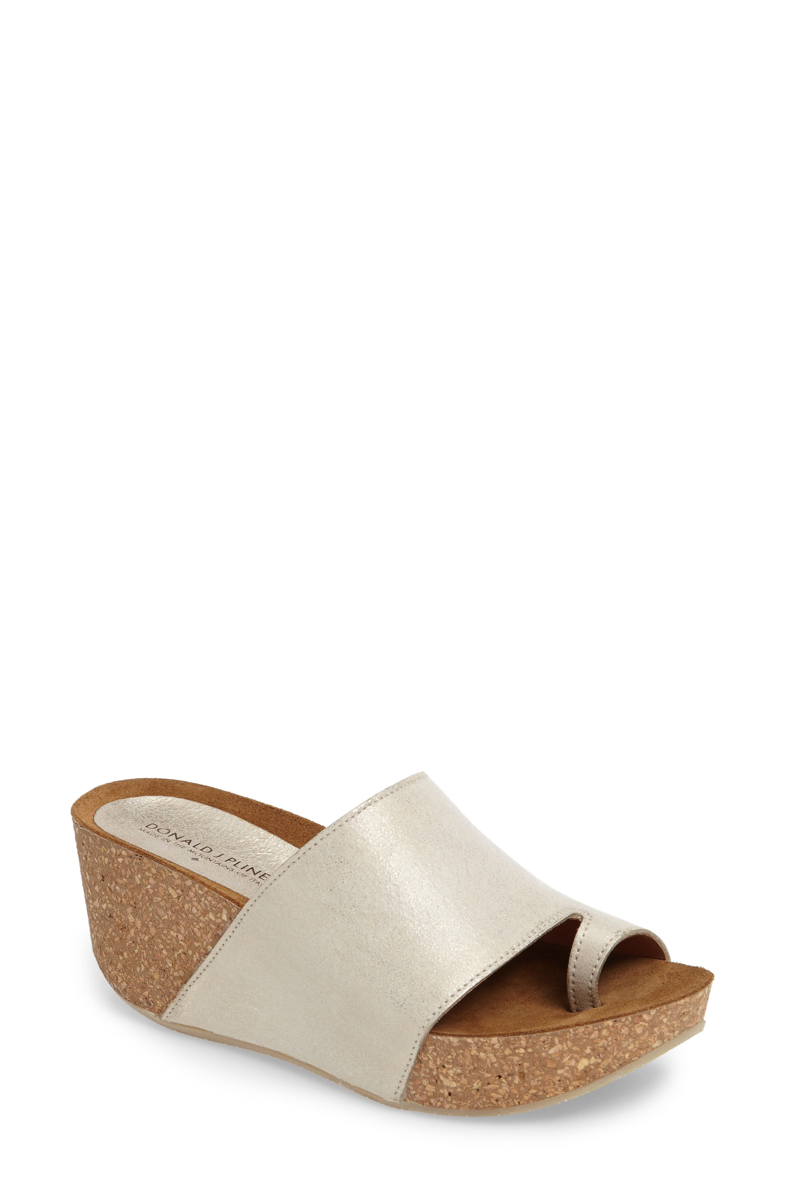 Donald J Pliner Ginie Platform Wedge Sandal,                             Main thumbnail 8, color,