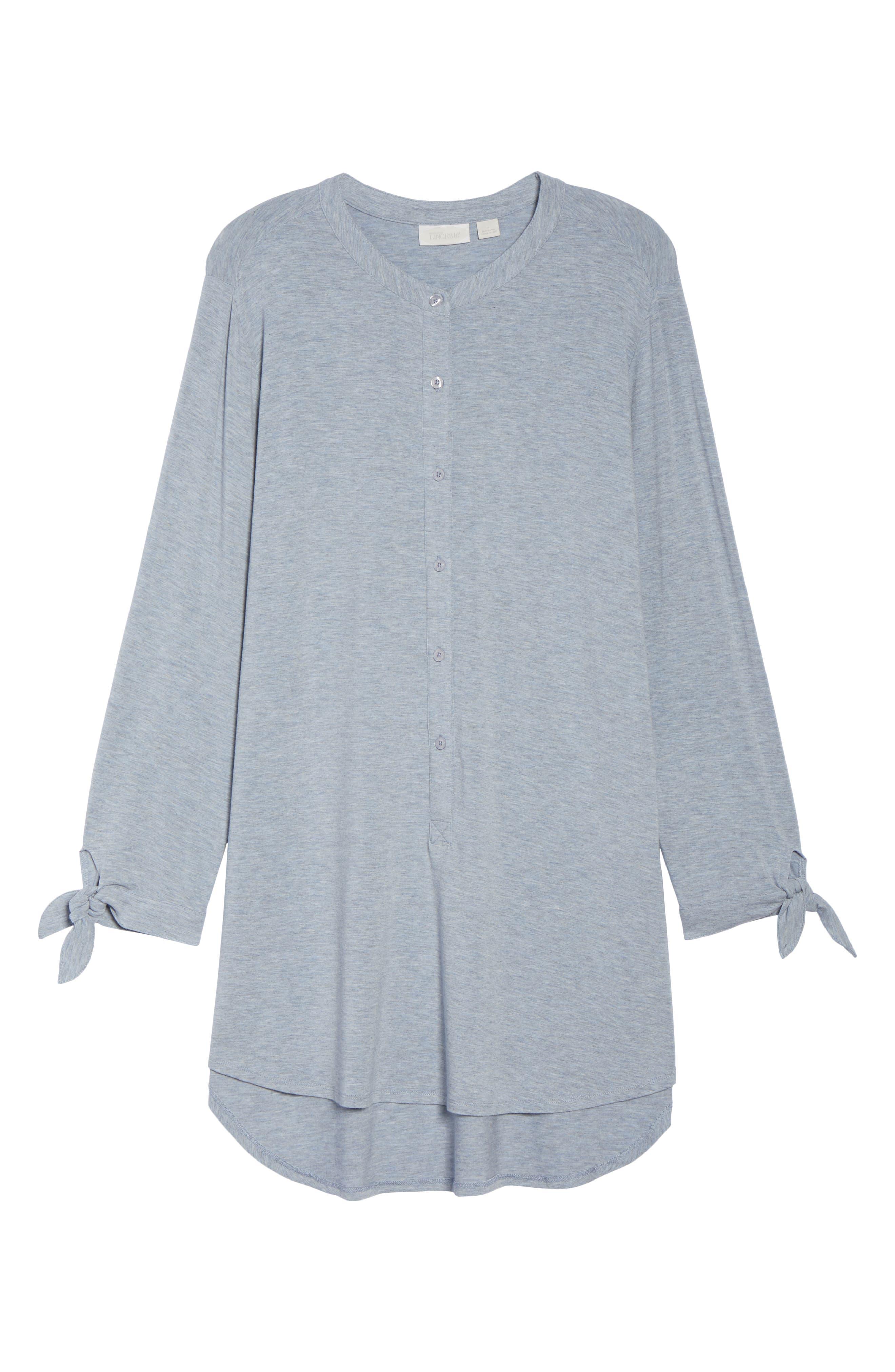 Breathe Modal Jersey Sleep Shirt,                             Alternate thumbnail 12, color,