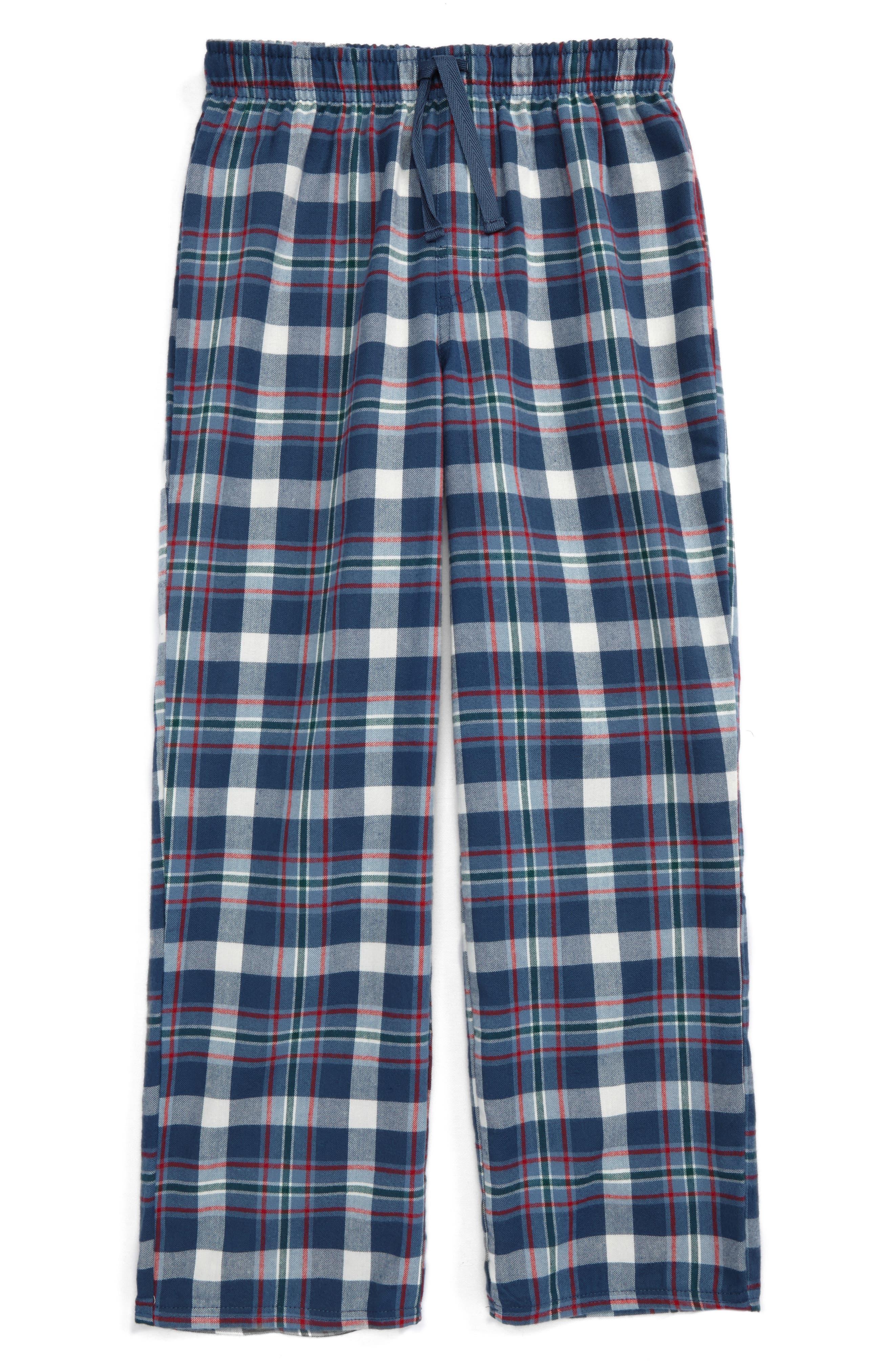 Plaid Flannel Pants,                             Main thumbnail 9, color,