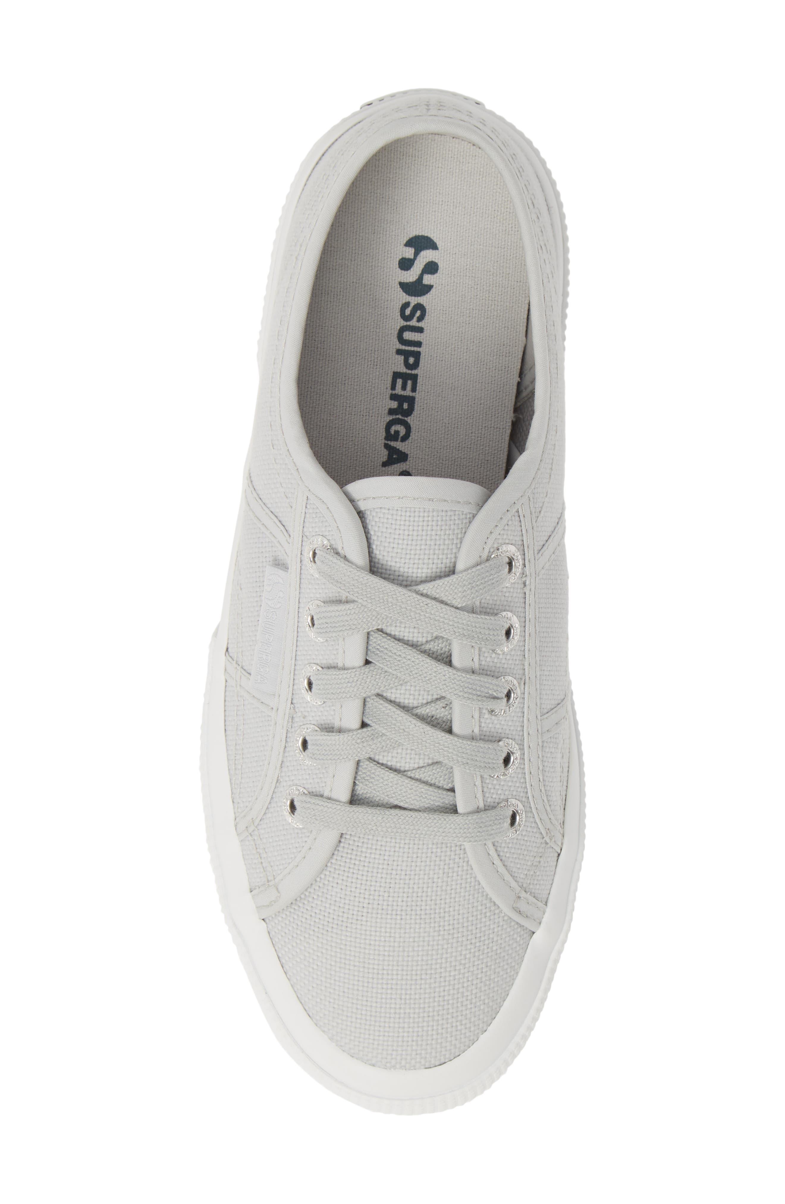 SUPERGA,                             'Cotu' Sneaker,                             Alternate thumbnail 5, color,                             BEIGE DOUBLE CREAM