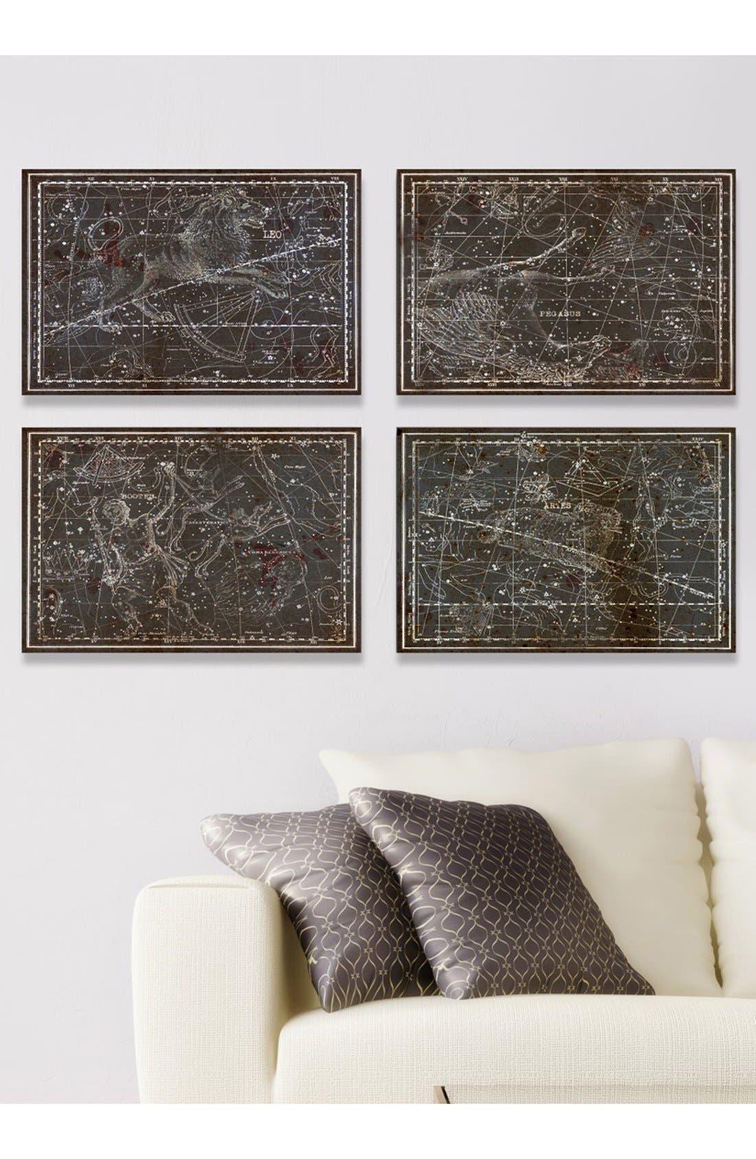 'Celestial Map XVI Century' Canvas Prints,                             Alternate thumbnail 2, color,                             001