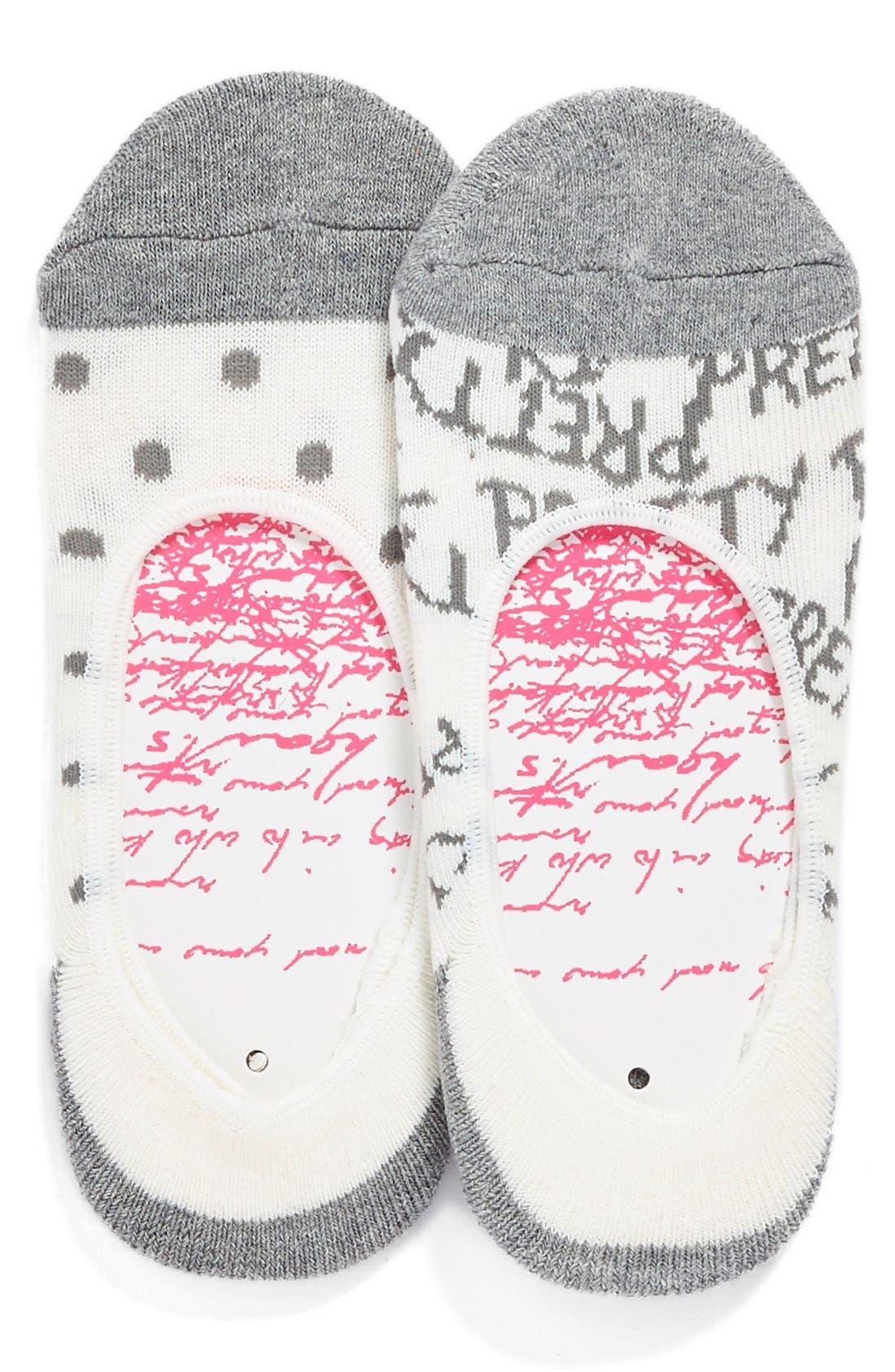 Studio Liner Socks, Main, color, 020