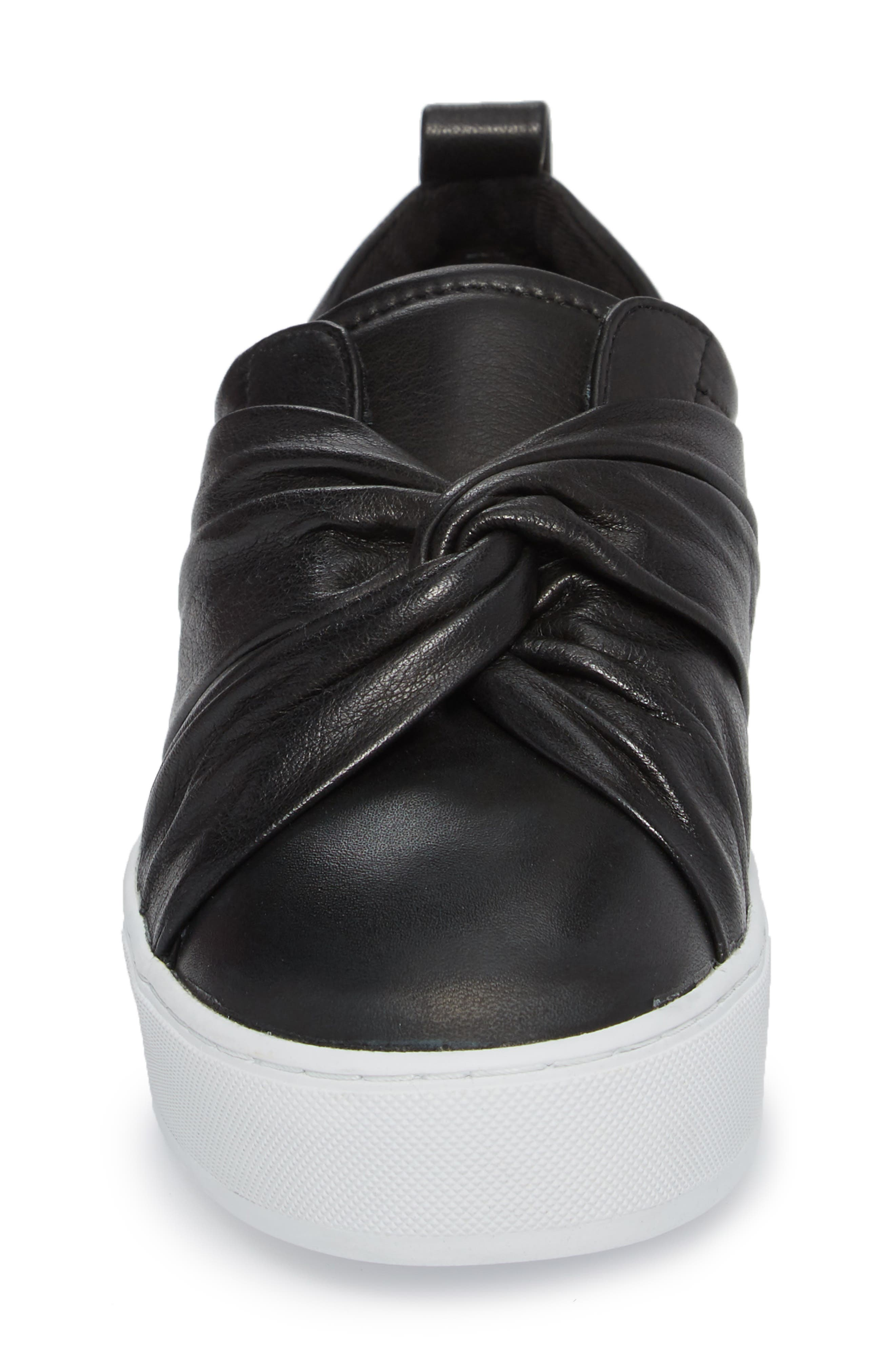 Nicole Platform Sneaker,                             Alternate thumbnail 4, color,                             001