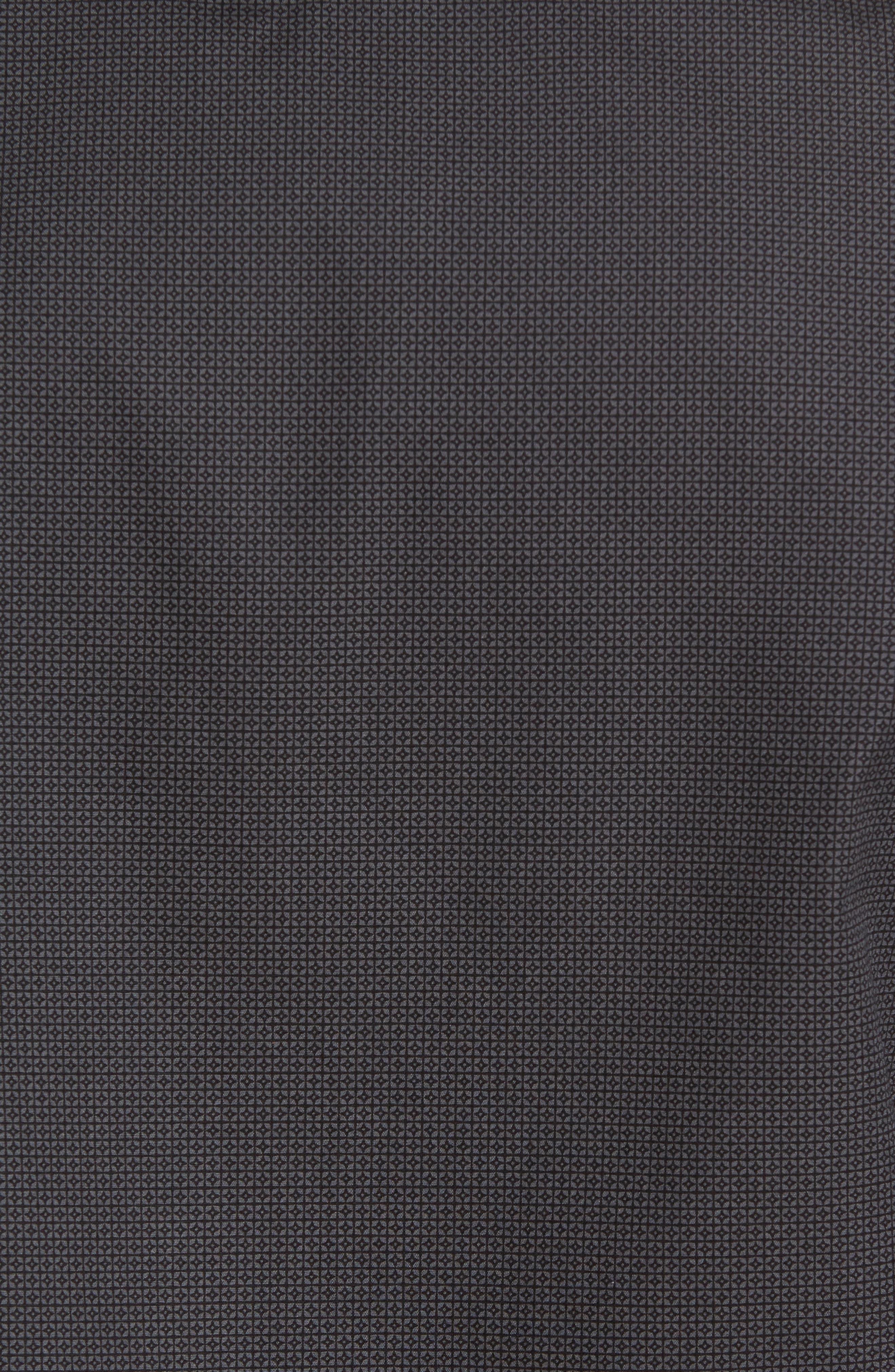 Slim Fit Print Sport Shirt,                             Alternate thumbnail 5, color,                             001