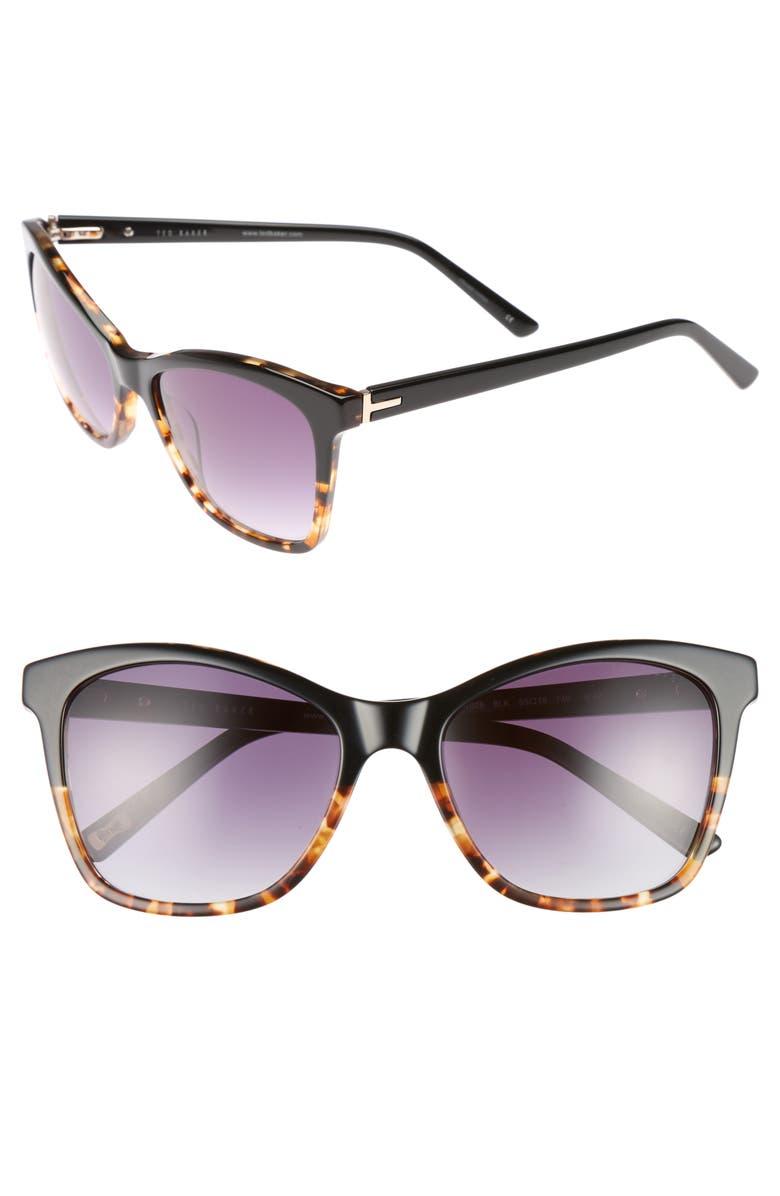327e7cde14038 Ted Baker London 55mm Cat Eye Sunglasses