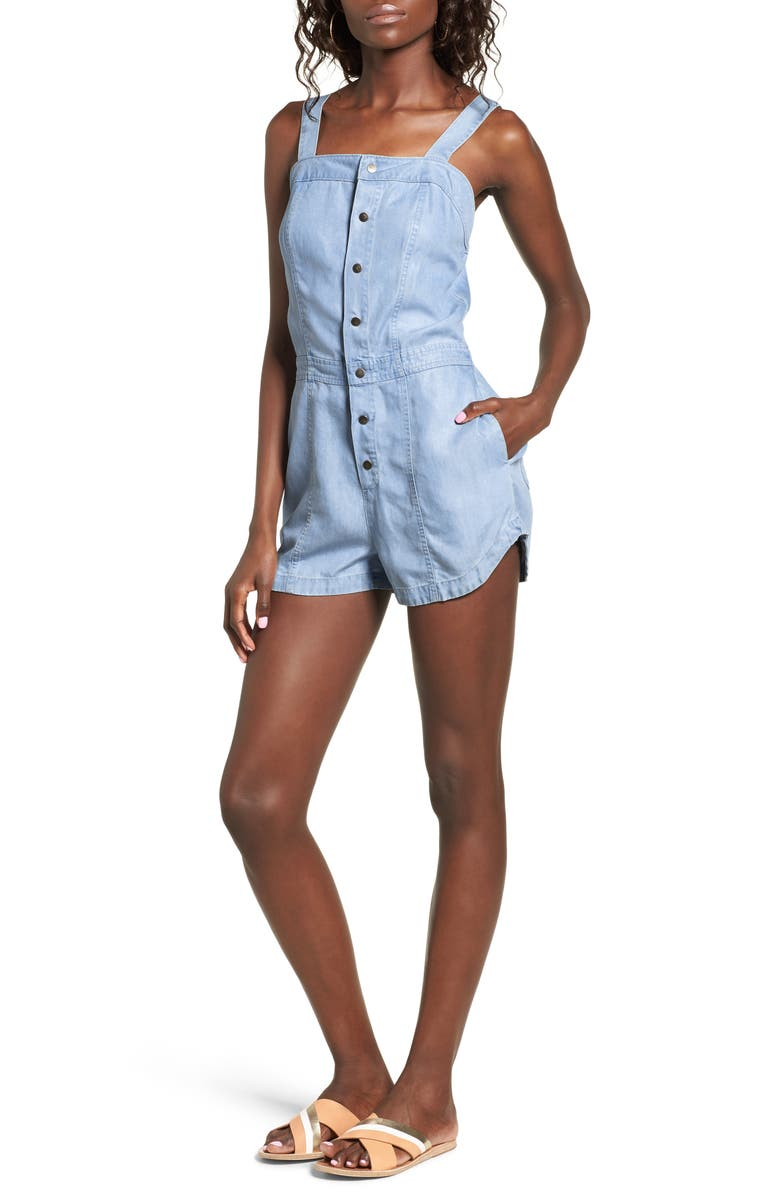 d218c06e0b77 RVCA Accomplice Chambray Romper