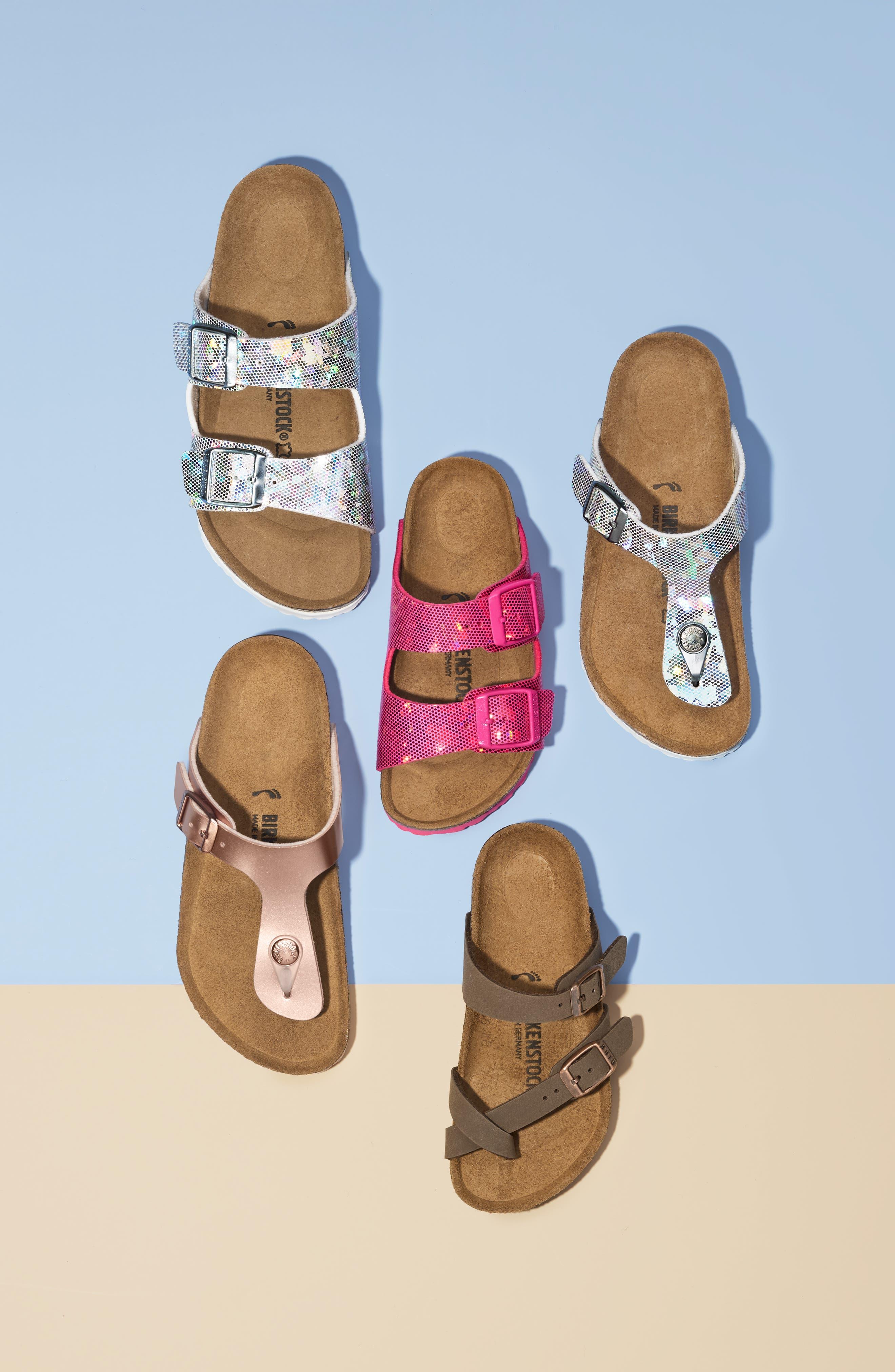 Mayari Birko-Flor<sup>™</sup> Sandal,                             Alternate thumbnail 7, color,                             MOCHA