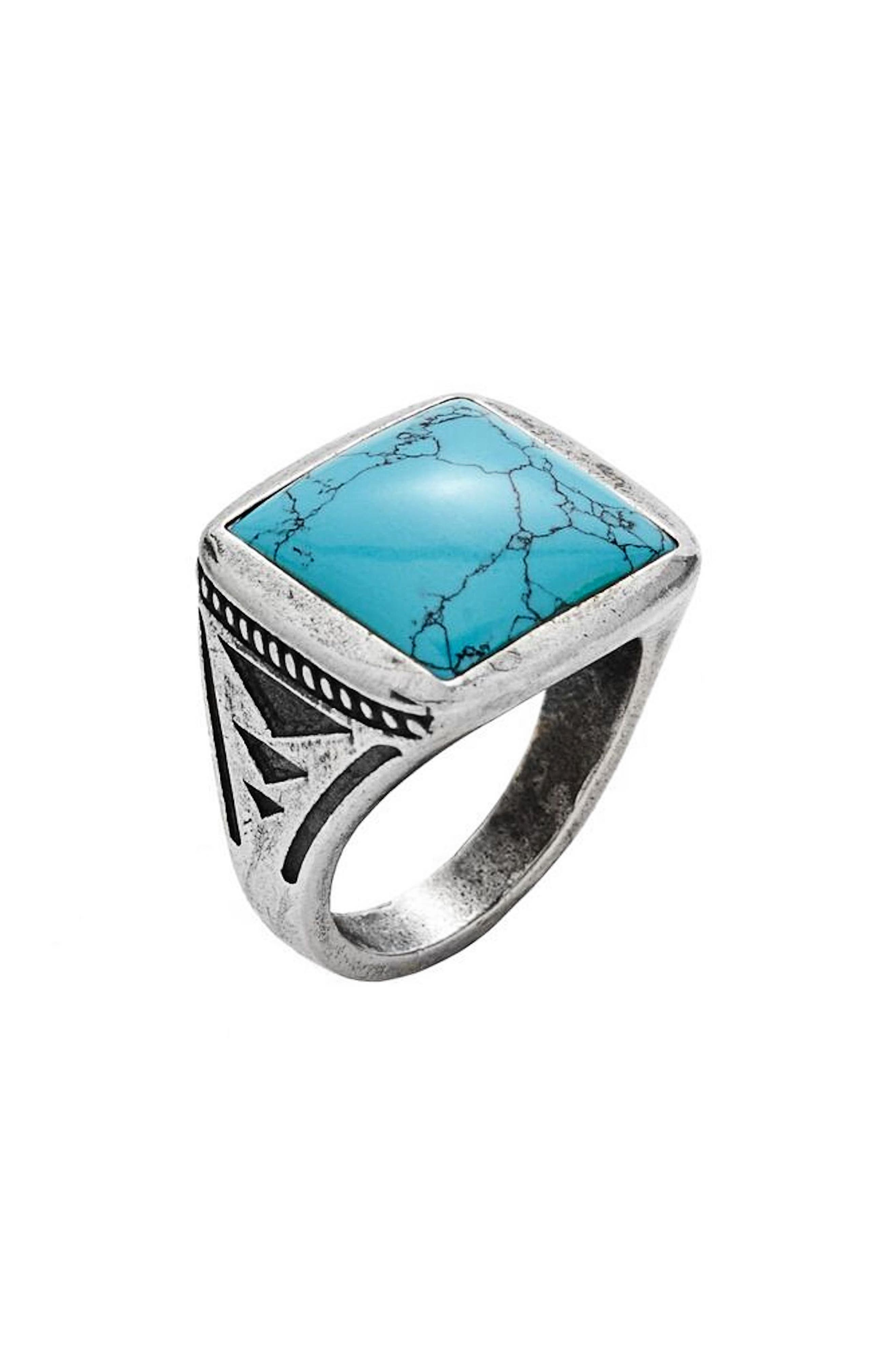 Turquoise Ring,                             Main thumbnail 1, color,                             TURQUOISE