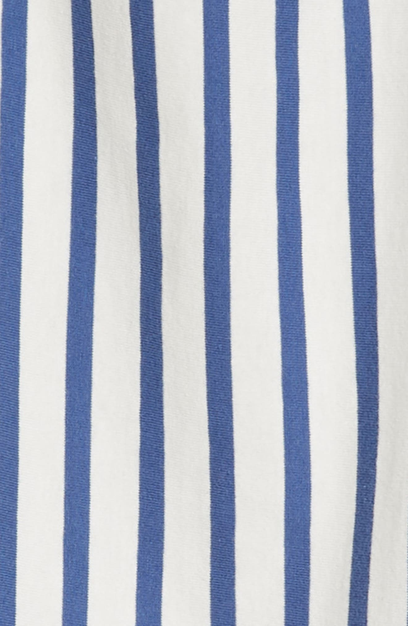 Stripe Trapeze Dress,                             Alternate thumbnail 3, color,                             415