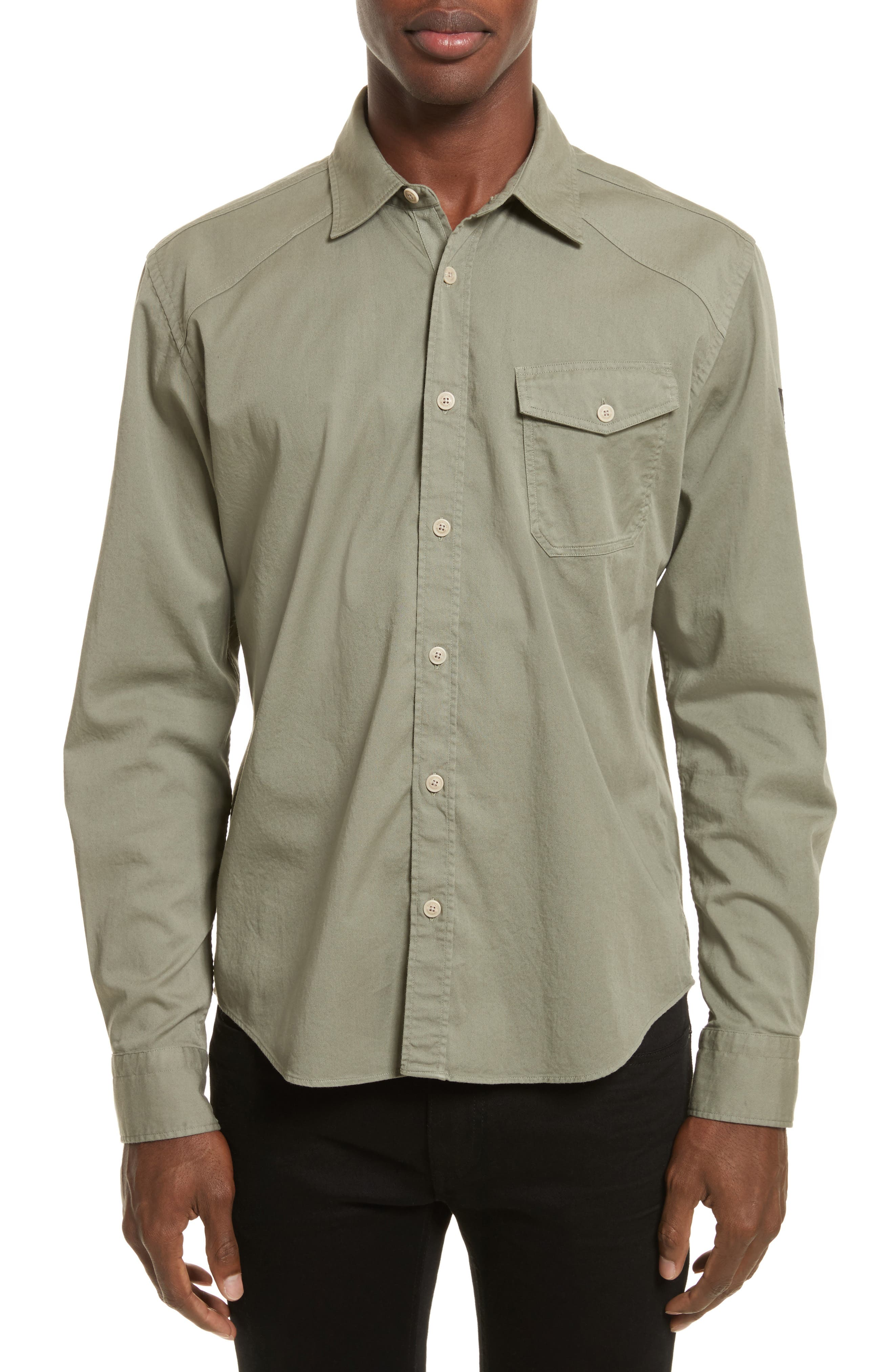 Steadway Extra Slim Fit Sport Shirt,                             Main thumbnail 1, color,