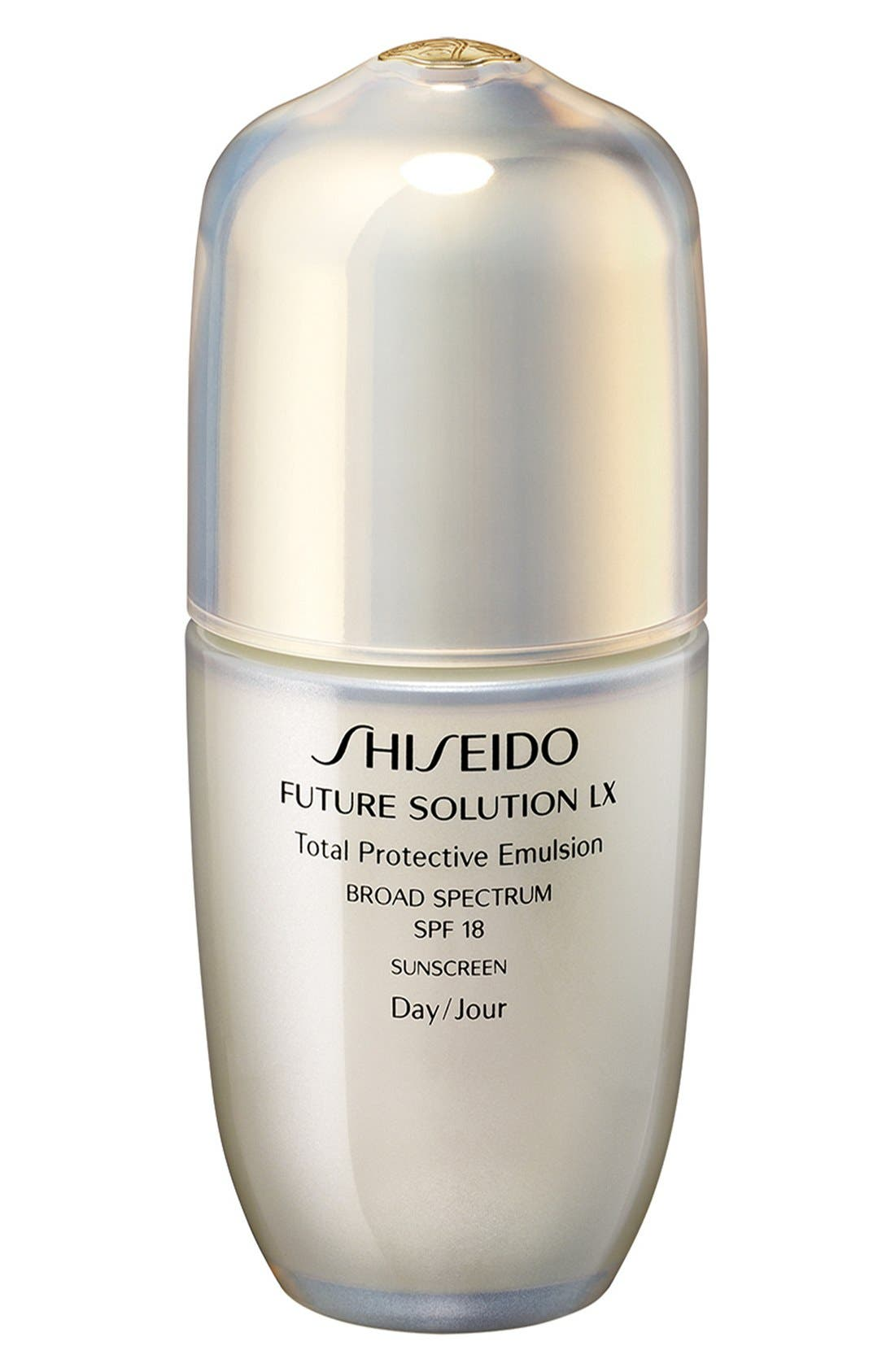 'Future Solution LX' Total Protective Emulsion SPF 18,                             Main thumbnail 1, color,                             000