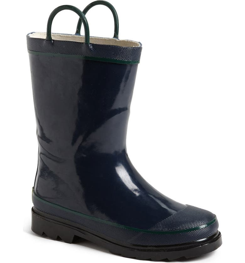 'Firechief 2' Rain Boot, Main, color, NAVY