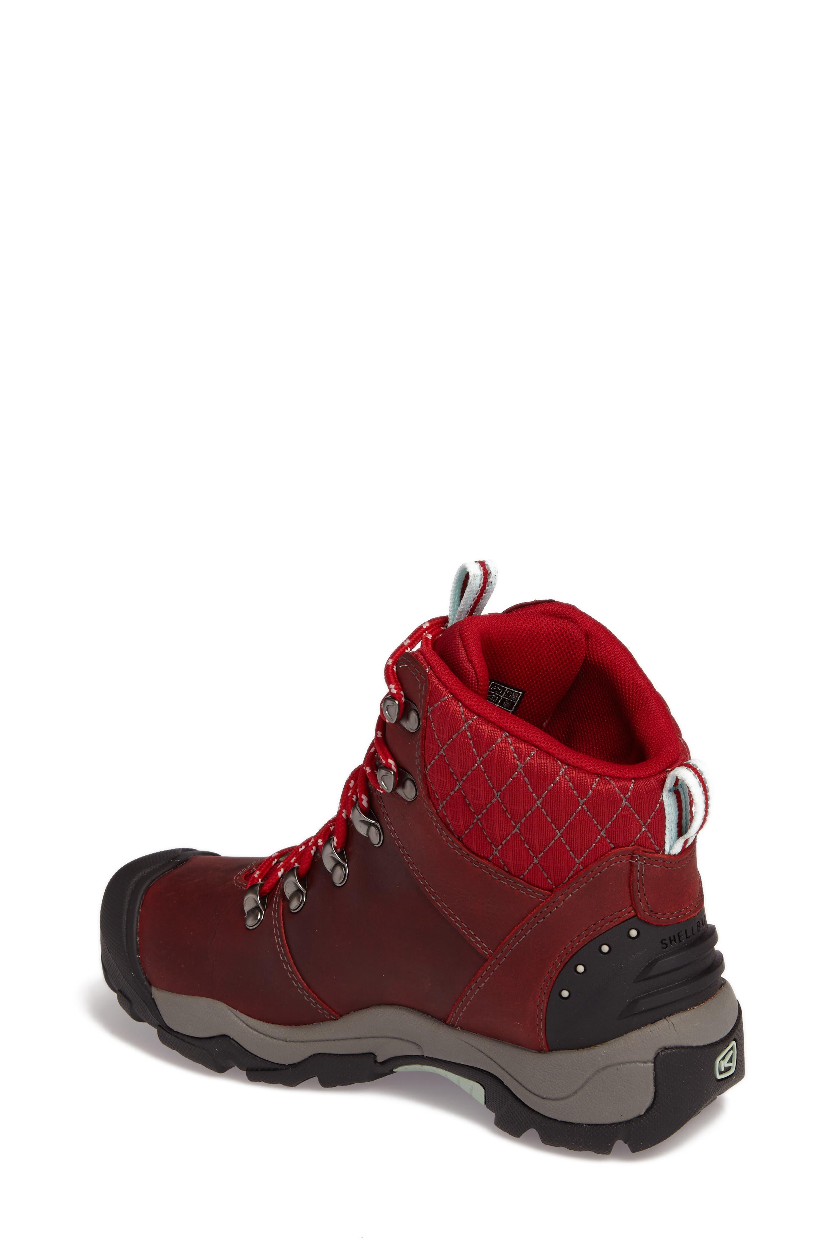 Revel III Waterproof Hiking Boot,                             Alternate thumbnail 4, color,