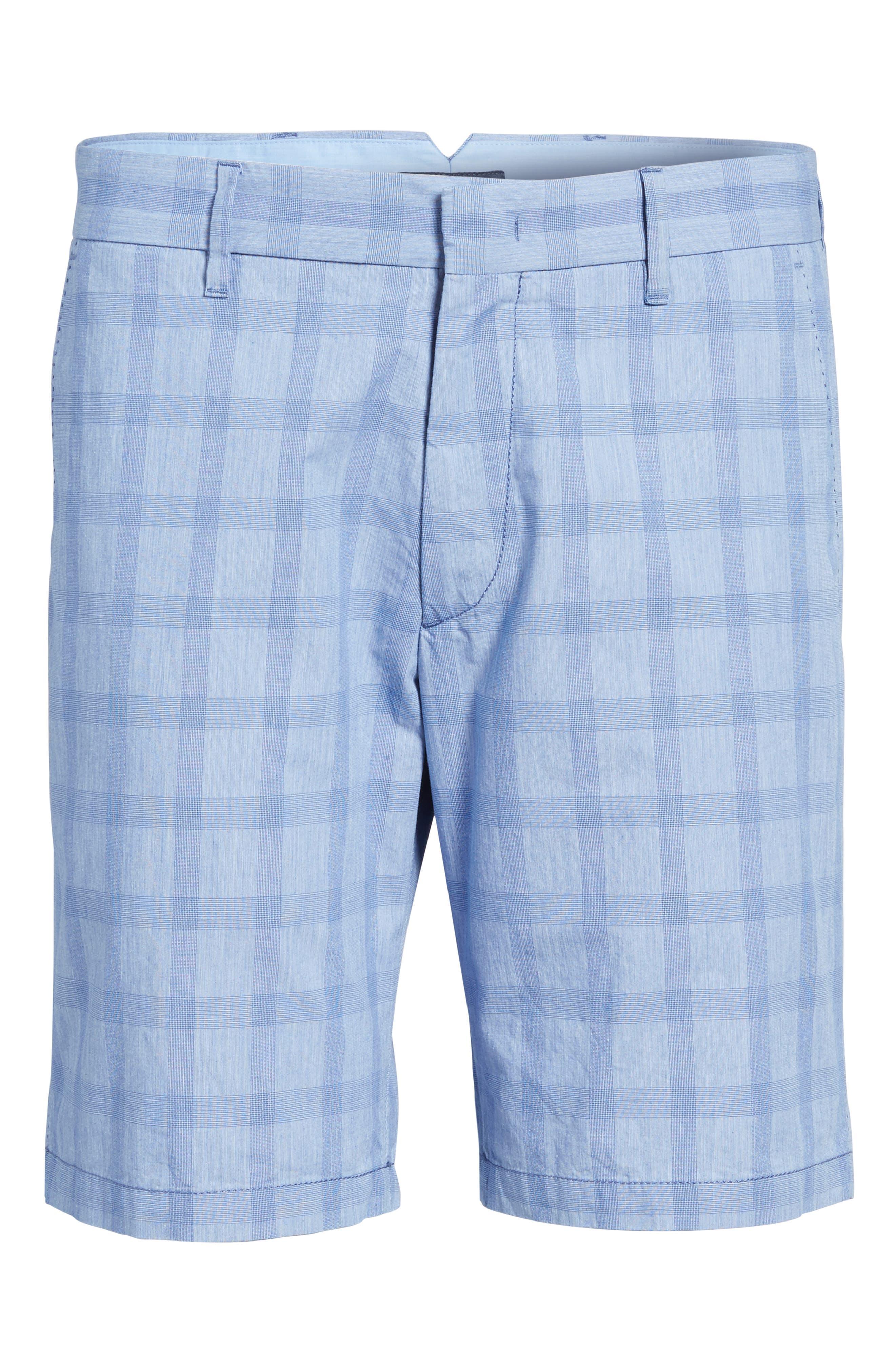 Antrorse Plaid Shorts,                             Alternate thumbnail 6, color,                             400
