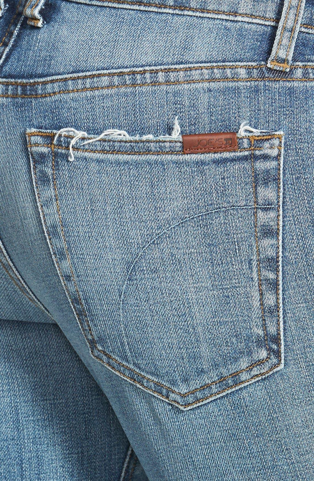 Slim Boyfriend Crop Jeans,                             Alternate thumbnail 2, color,                             400