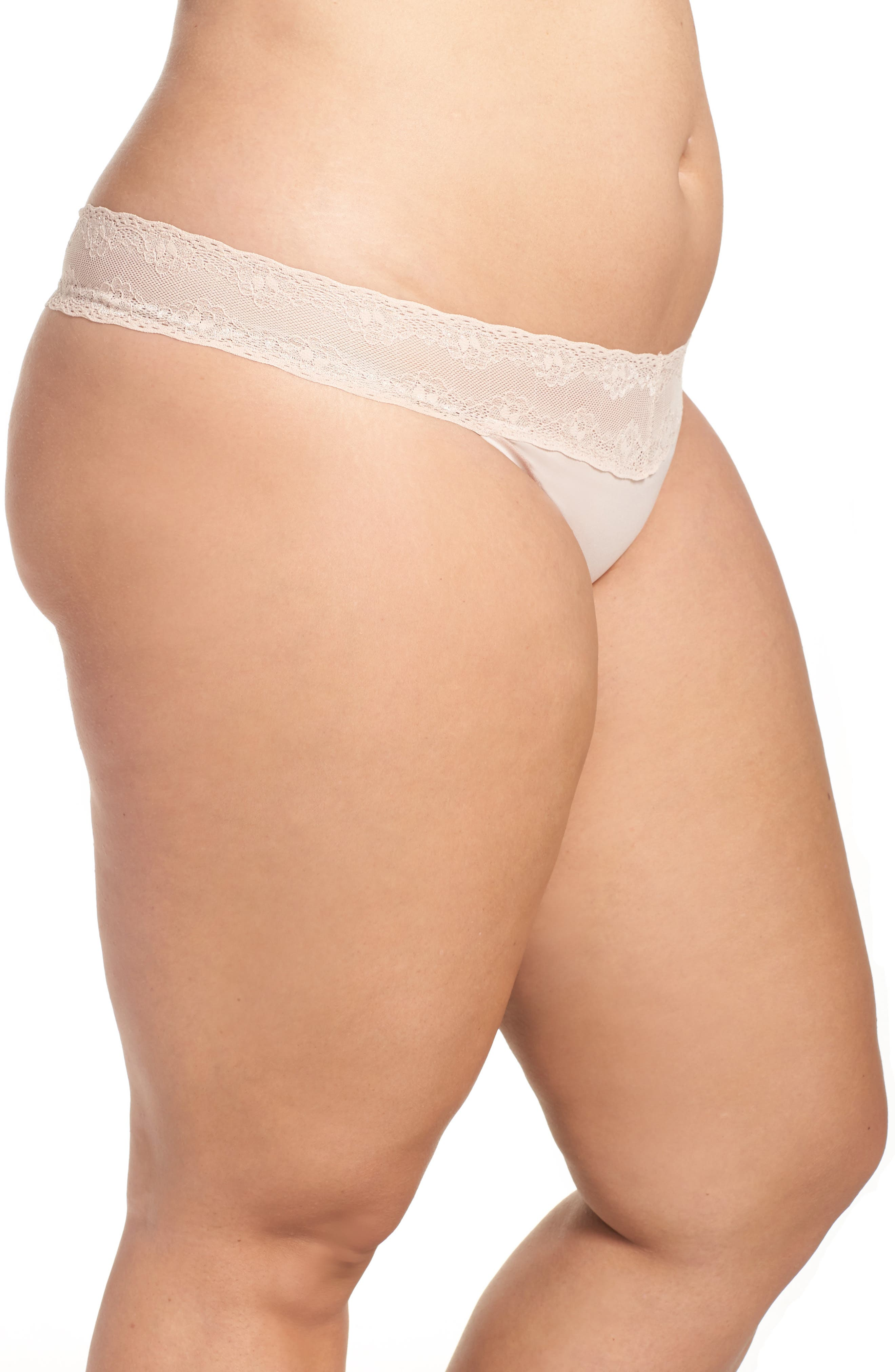 Bliss Perfection Thong,                             Alternate thumbnail 23, color,
