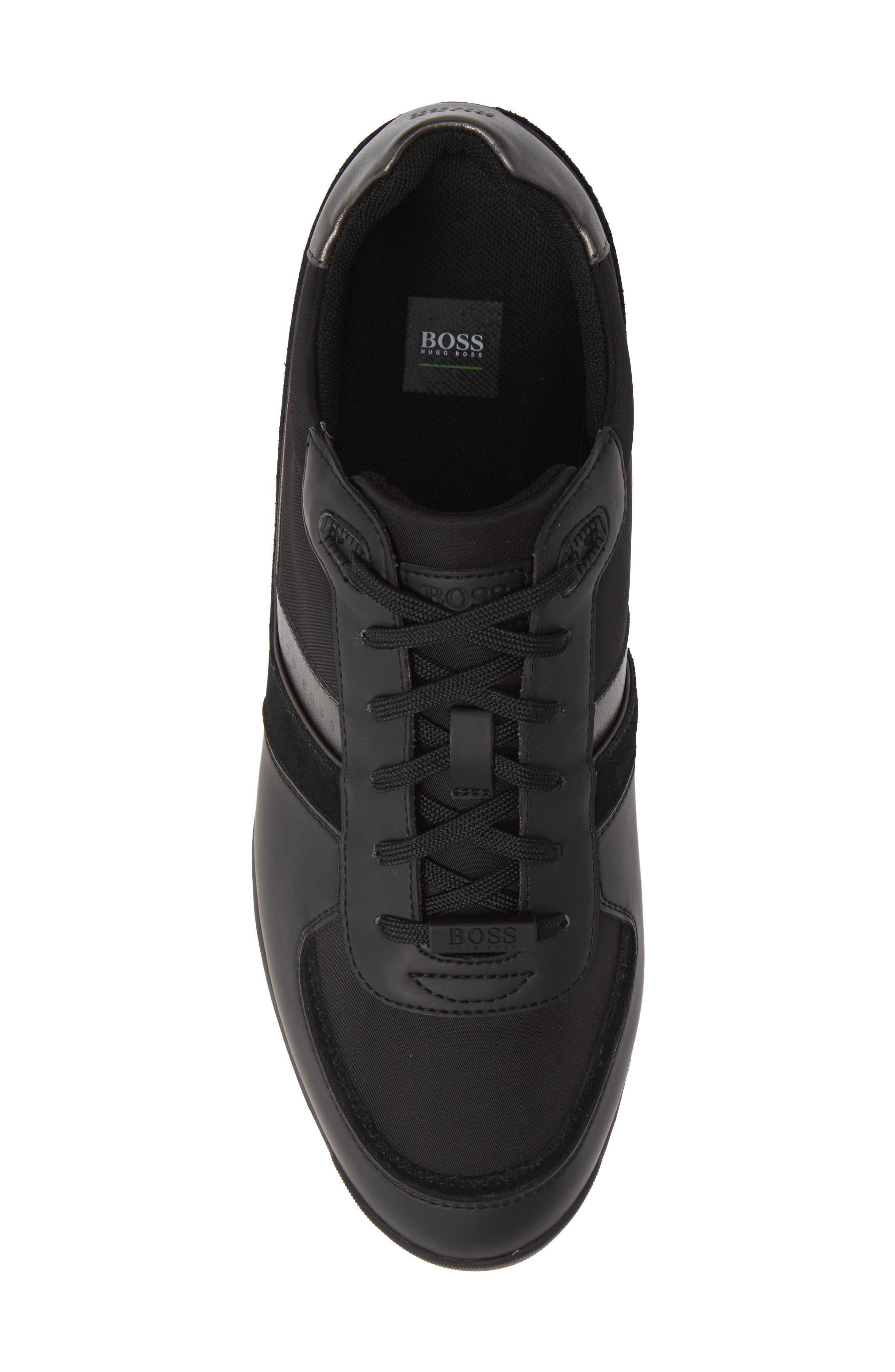 Maze Sneaker,                             Alternate thumbnail 5, color,                             BLACK