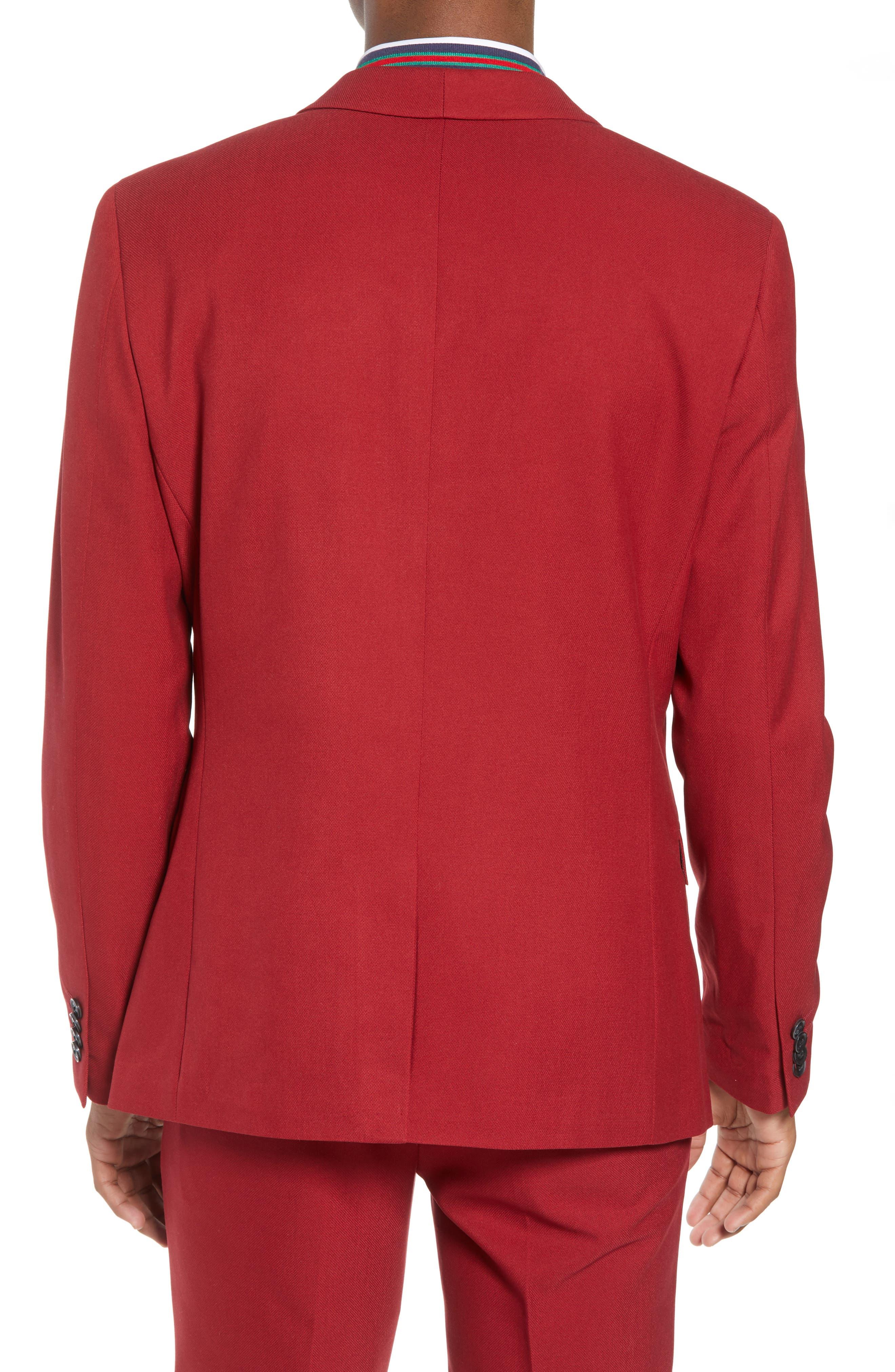 Skinny Fit Suit Jacket,                             Alternate thumbnail 2, color,                             600