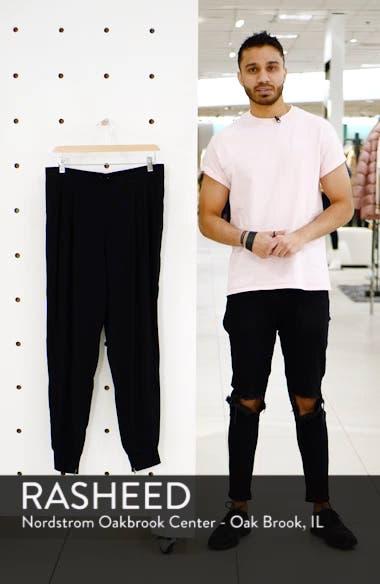 Slouchy Silk Ankle Pants, sales video thumbnail