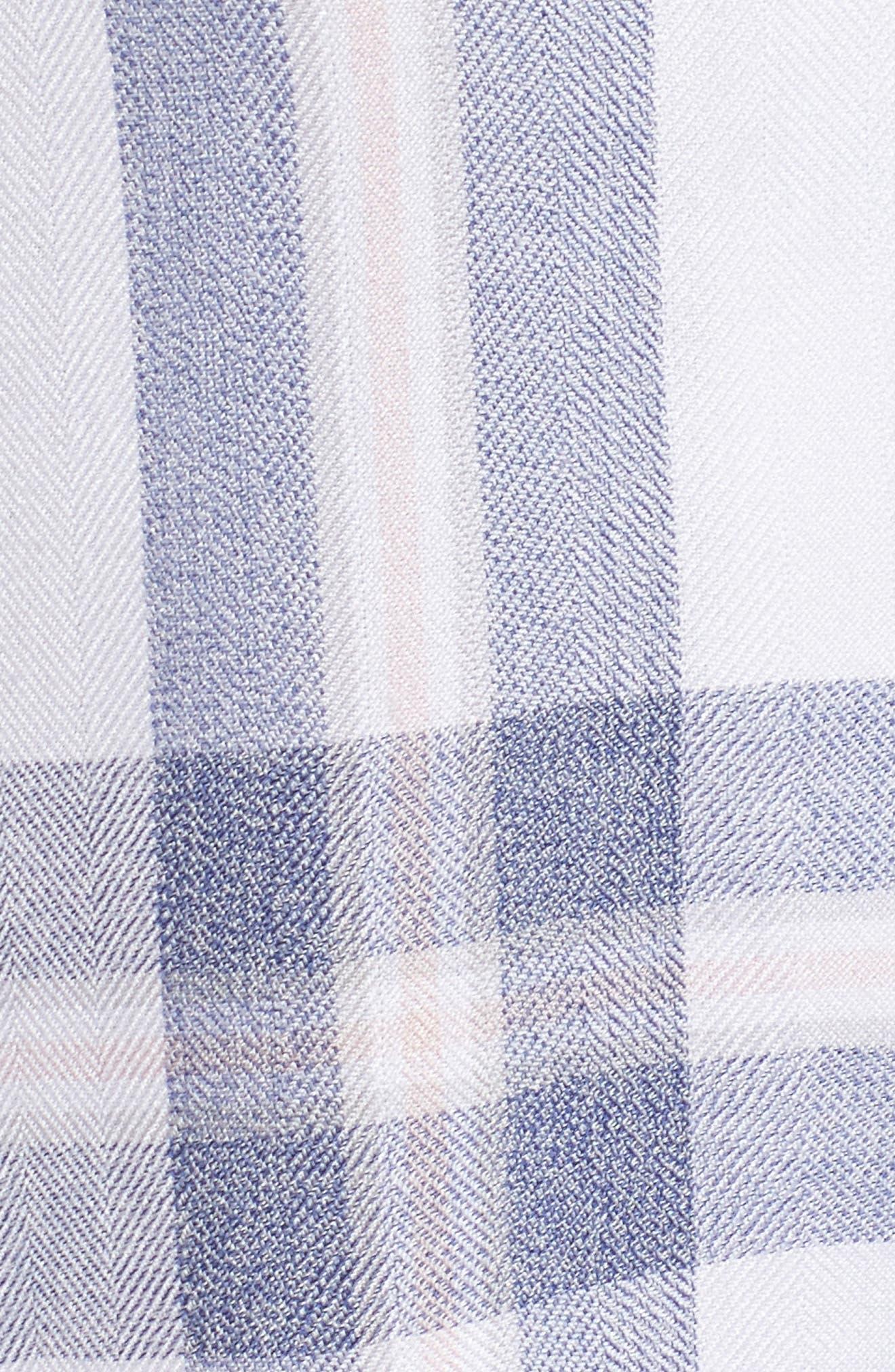 Plaid Short Pajamas,                             Alternate thumbnail 5, color,