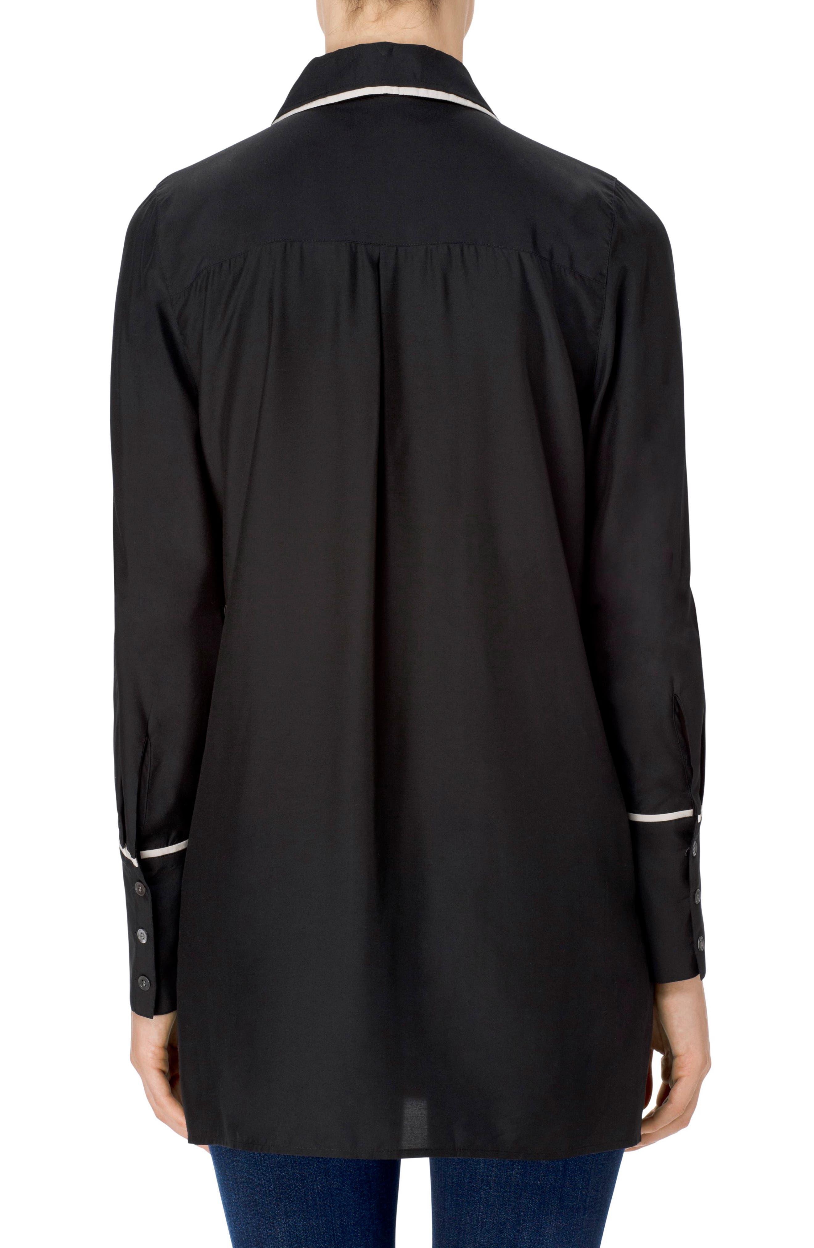 Blake Oversize Shirt,                             Alternate thumbnail 2, color,                             001