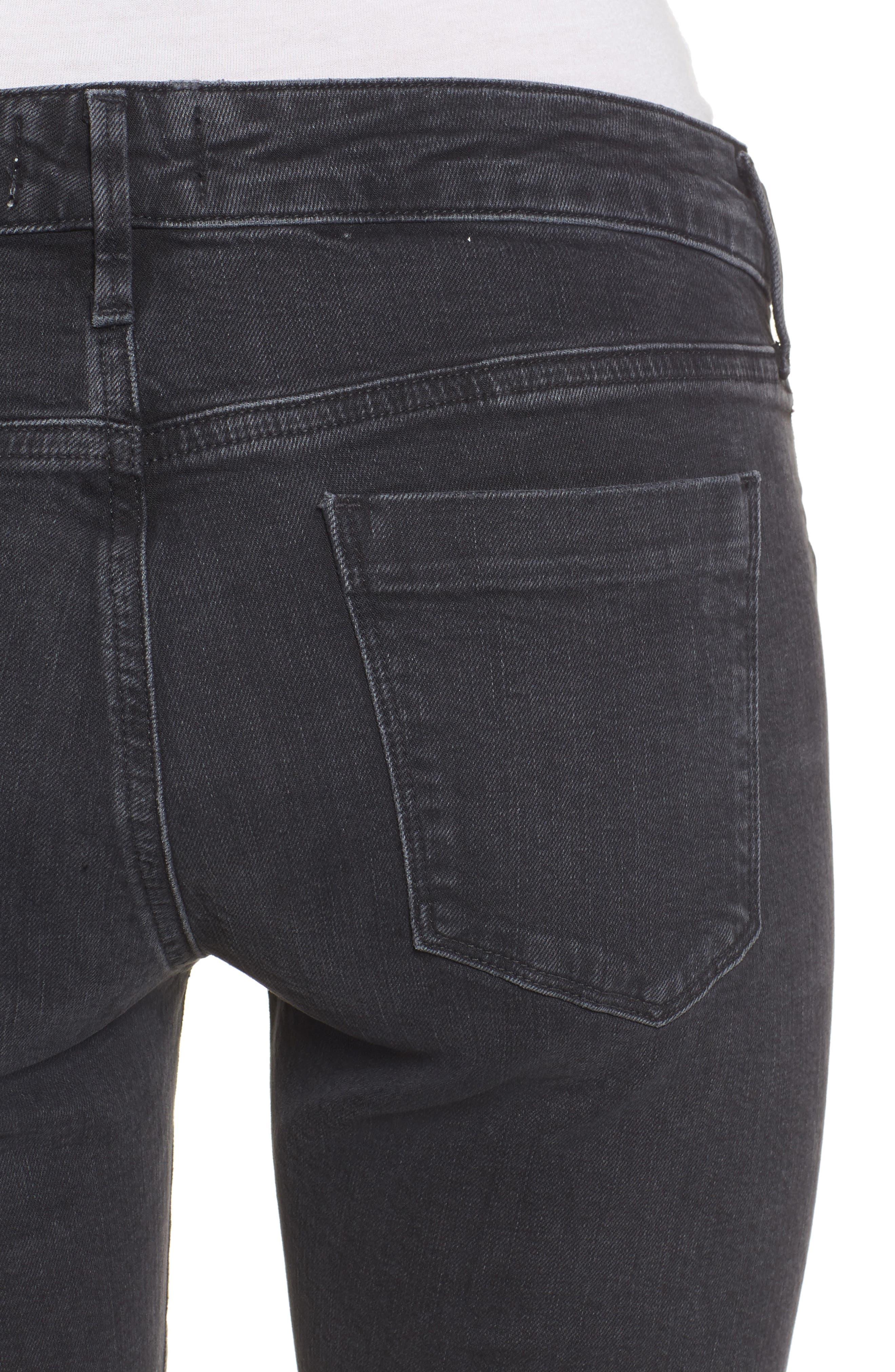 Chloe Low Rise Slim Jeans,                             Alternate thumbnail 4, color,                             072