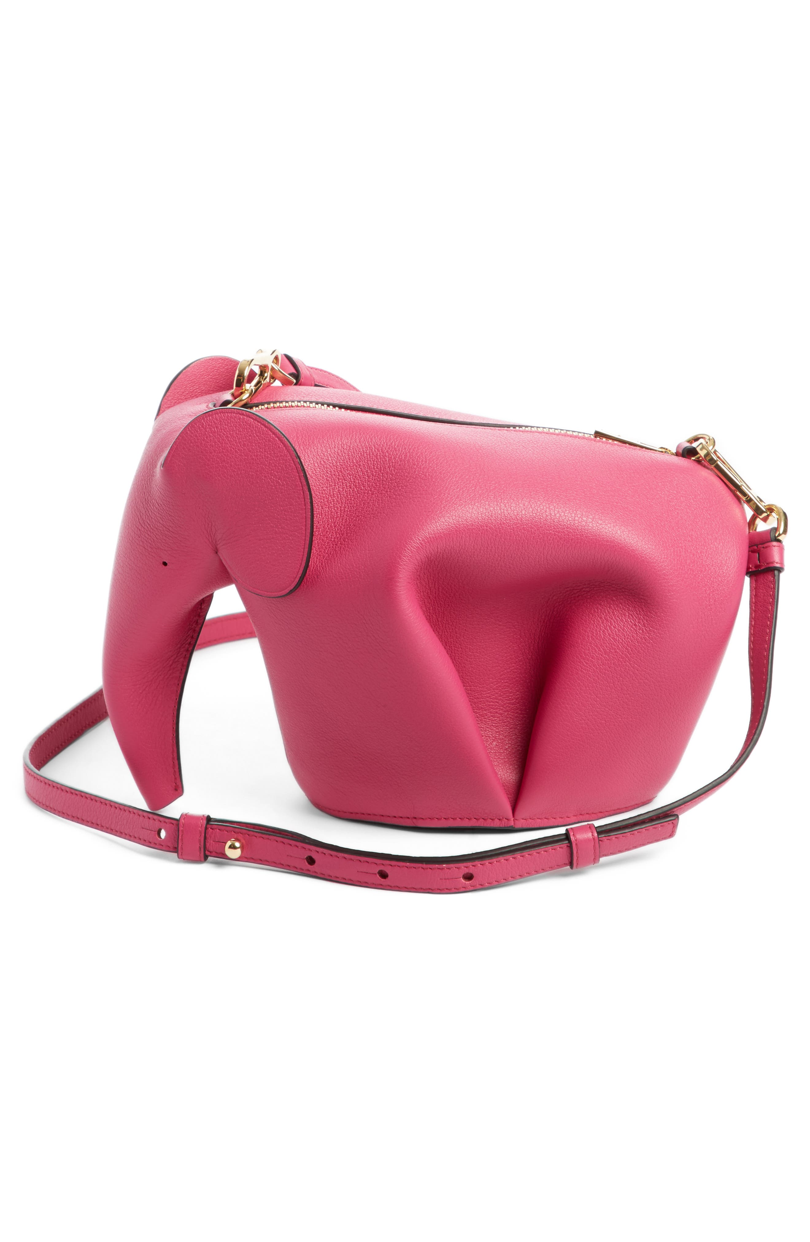 'Mini Elephant' Crossbody Bag,                             Alternate thumbnail 26, color,