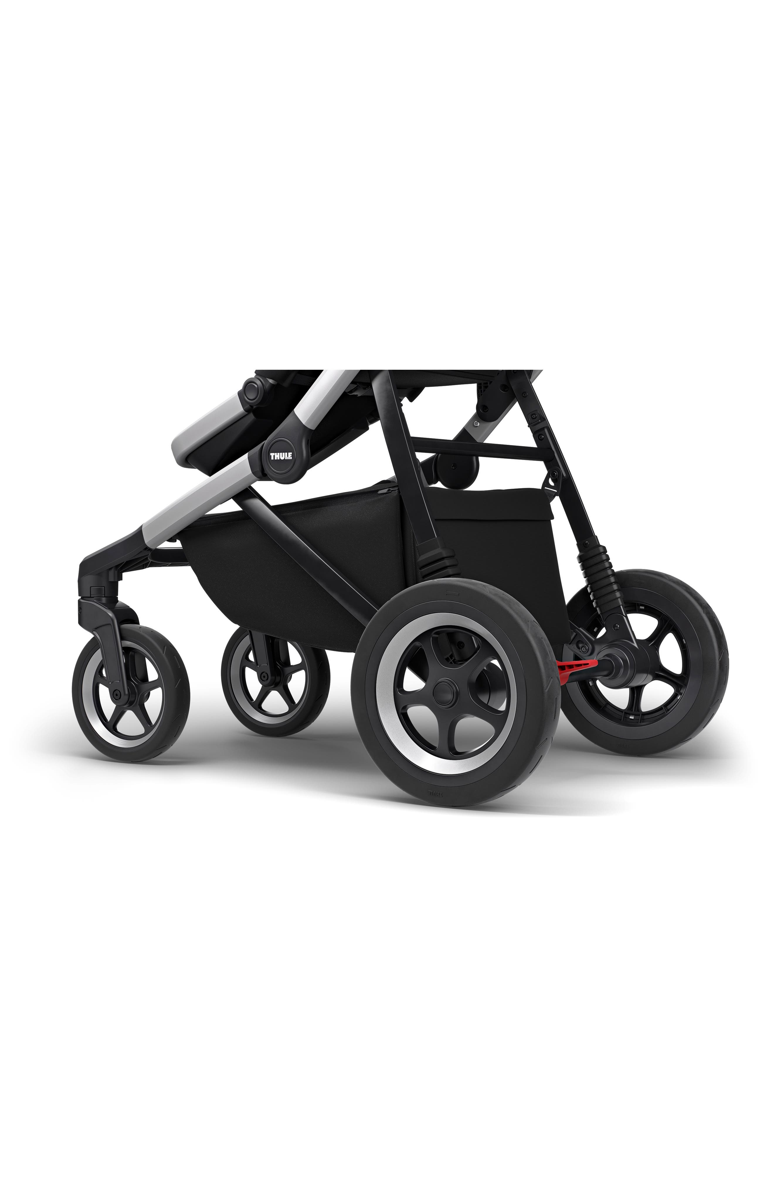 2018 Sleek City Stroller,                             Alternate thumbnail 5, color,                             BLACK