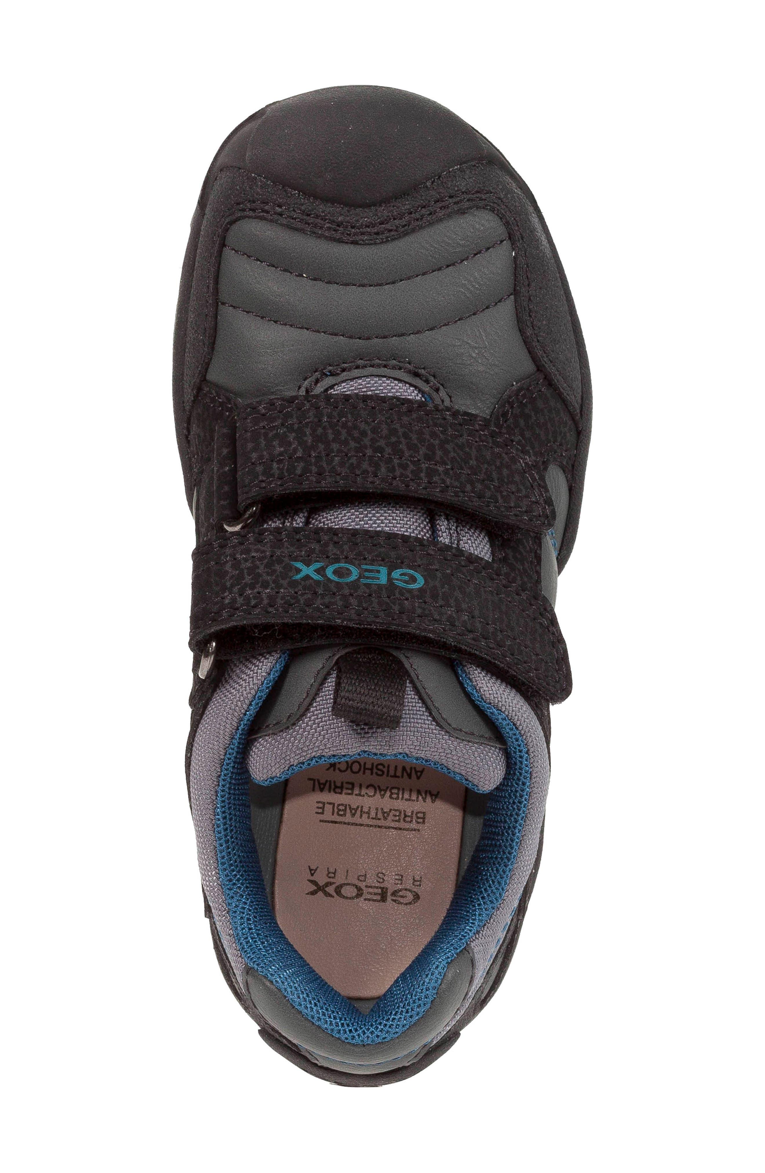 New Savage Sneaker,                             Alternate thumbnail 5, color,                             DARK GREY/PETROL